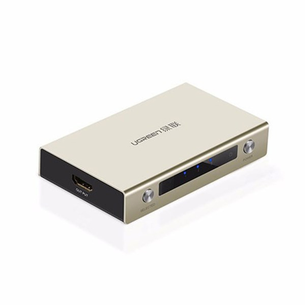 Image for UGreen 40278 3 Port HDMI Switch - Zinc Alloy CX Computer Superstore