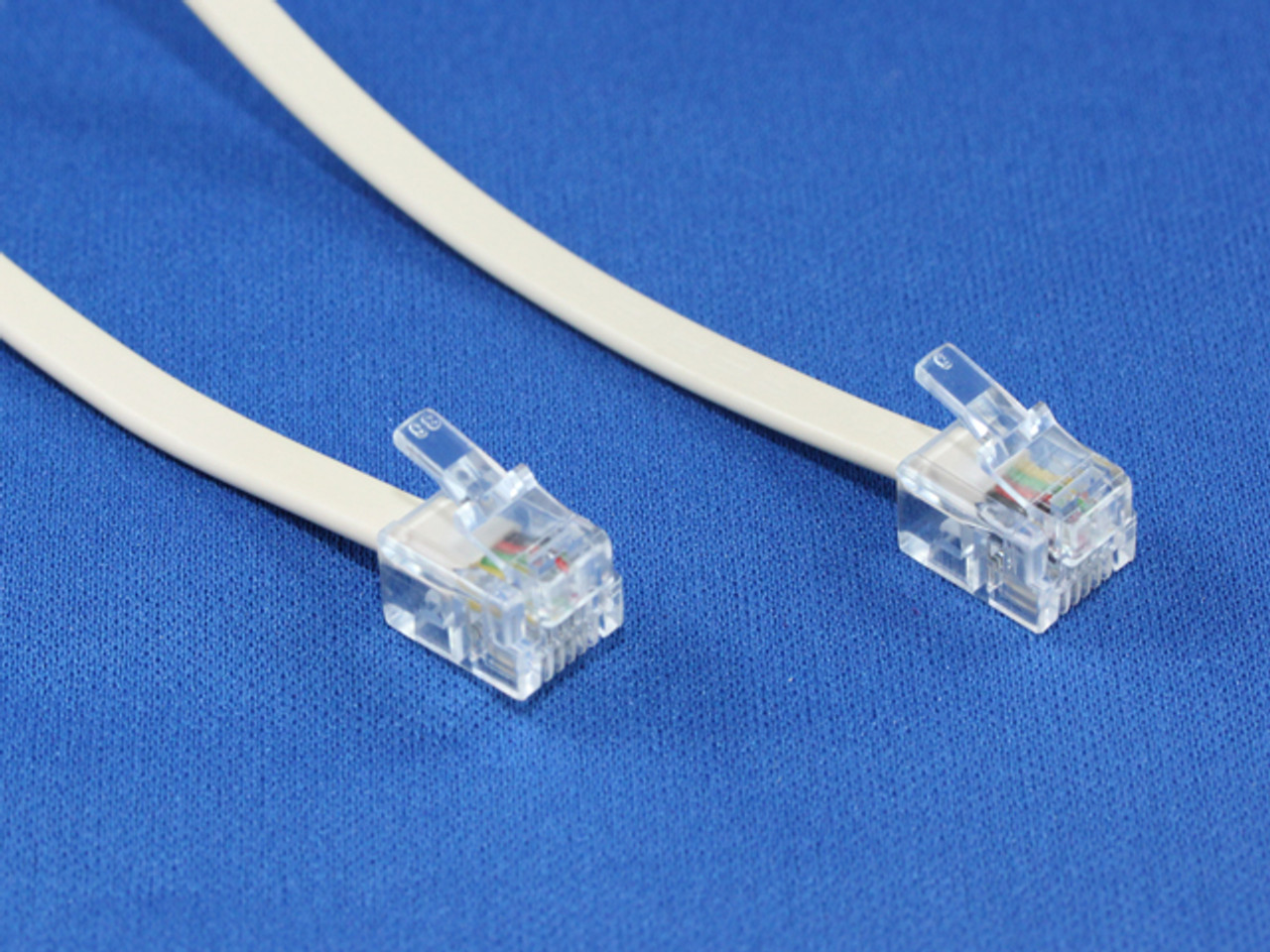 Product image for 2M RJ12/RJ12 Telephone Cable | CX Computer Superstore