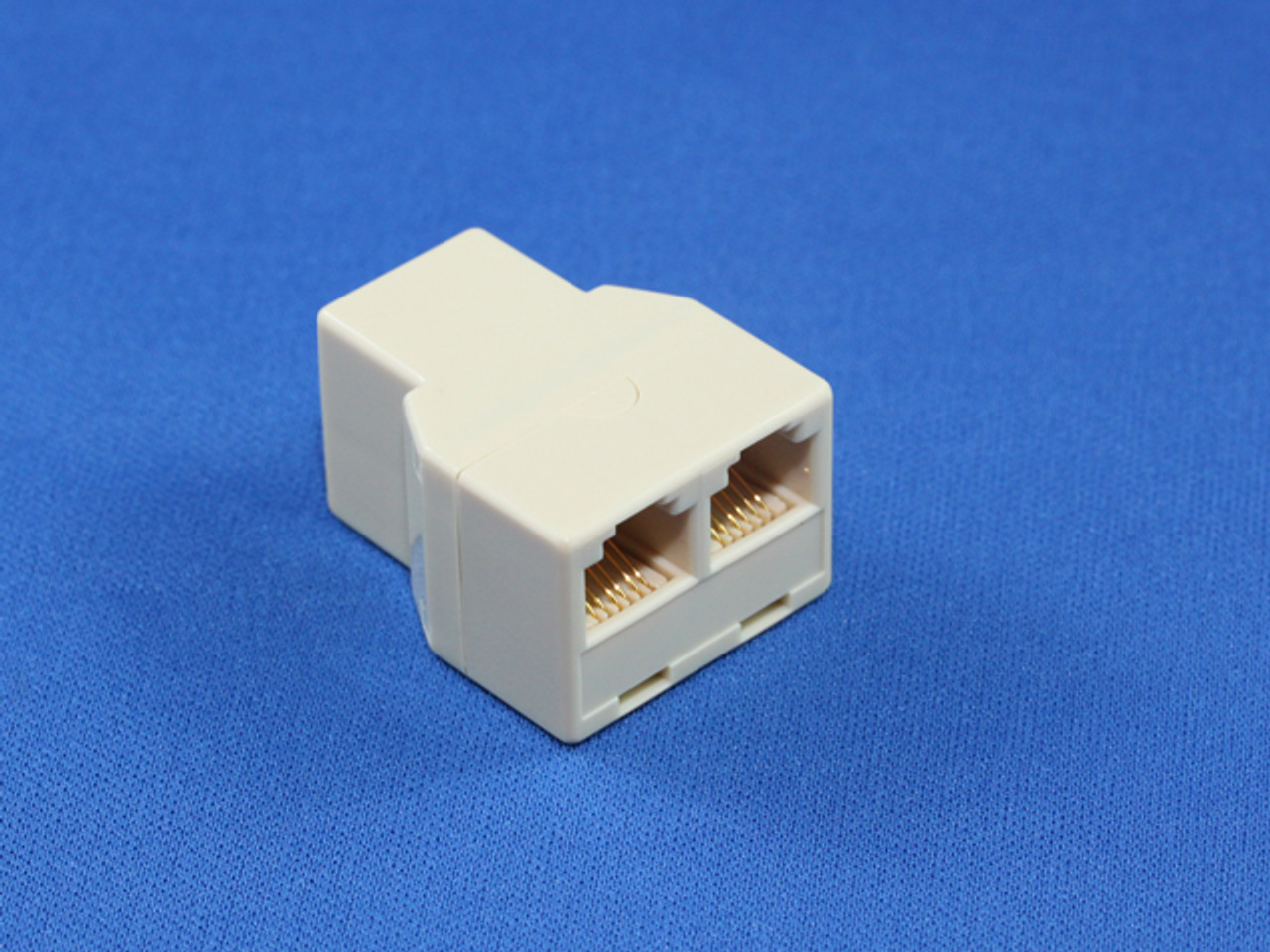 Product image for RJ12 6P6C 3 Way Coupler | CX Computer Superstore