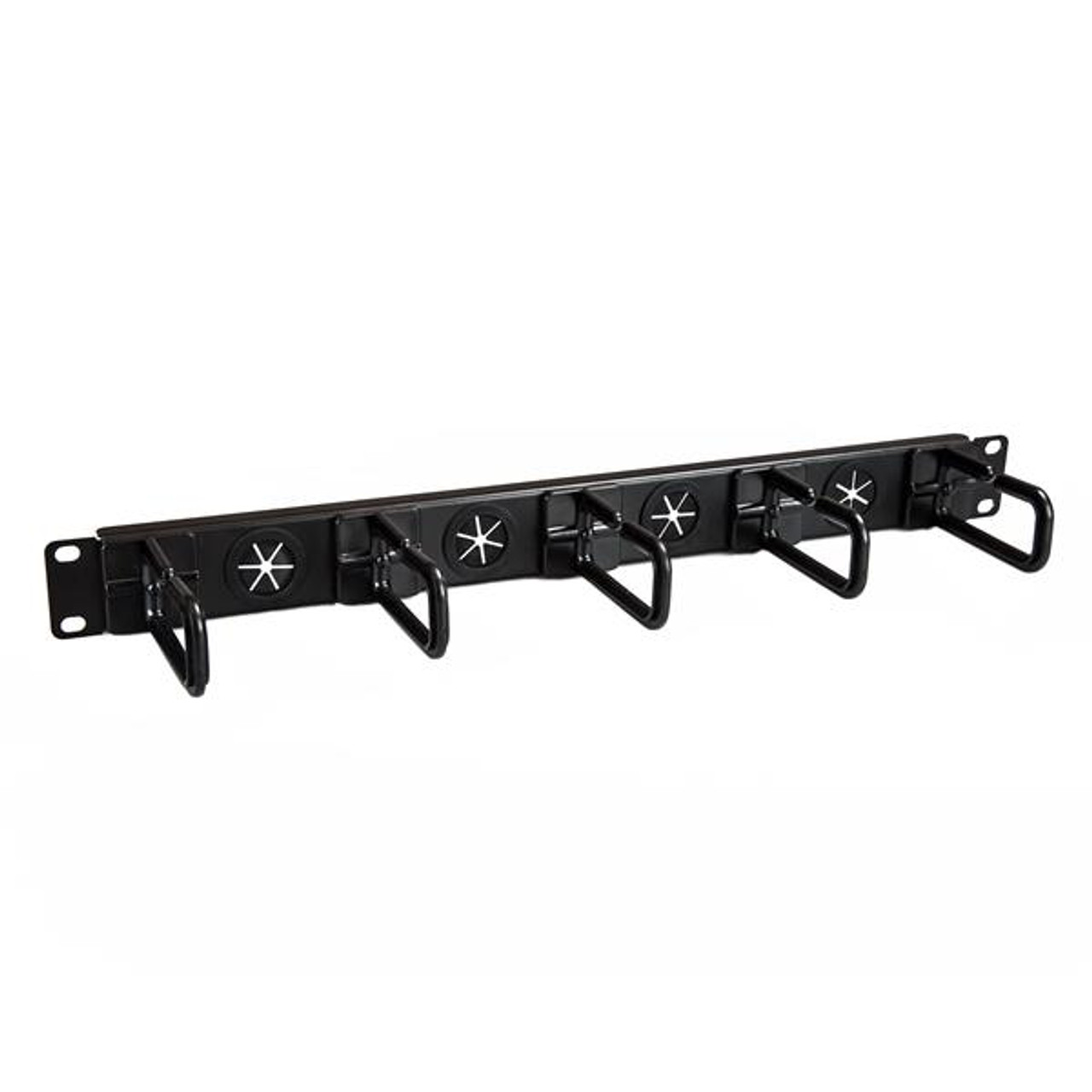 Image for StarTech Cable Manager - Cable Organizer - D-ring Hooks - Holes - 1U CX Computer Superstore