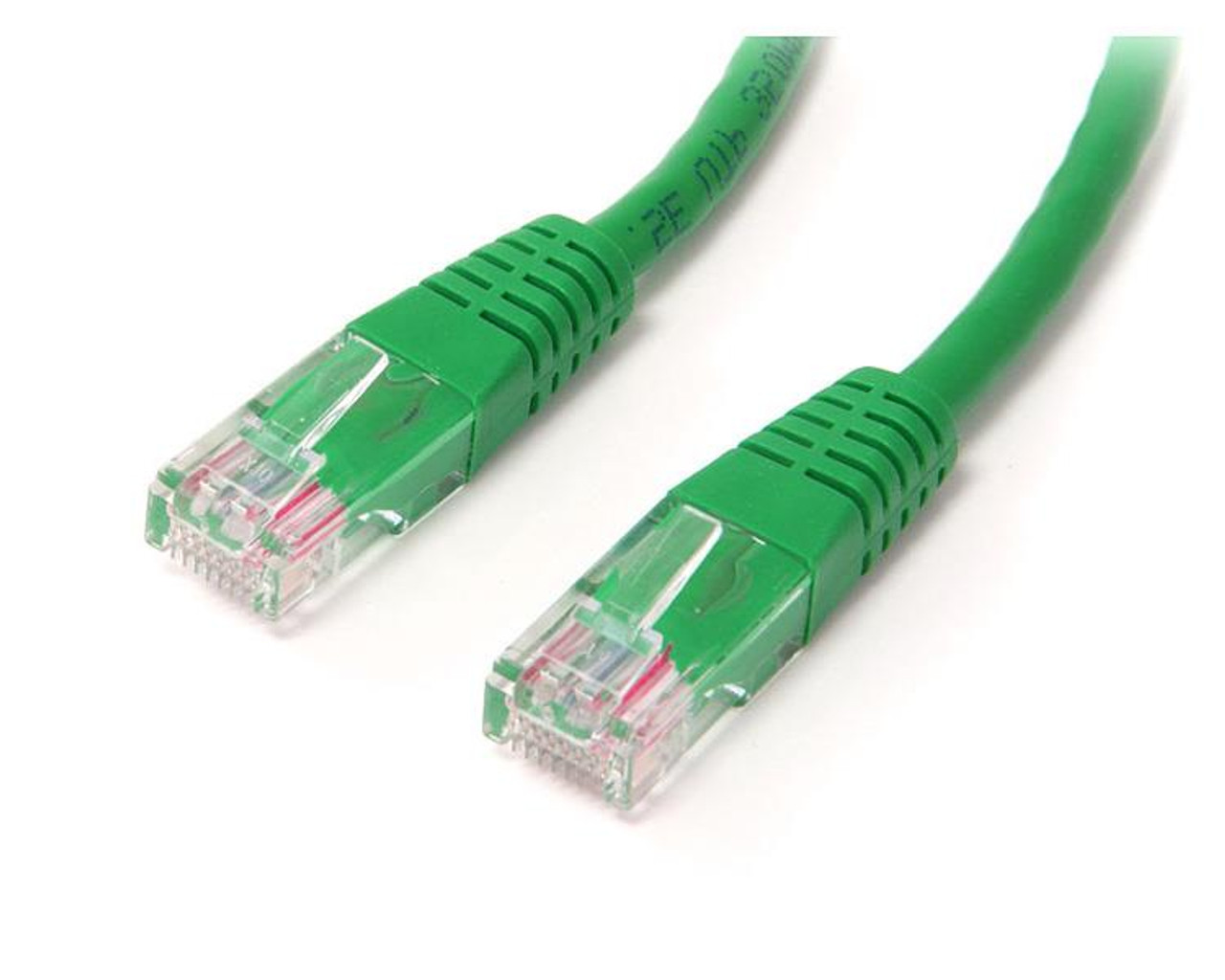 Image for StarTech 15m Cat5e Green Molded RJ45 UTP Cat 5e Patch Cable Cord 15 m CX Computer Superstore