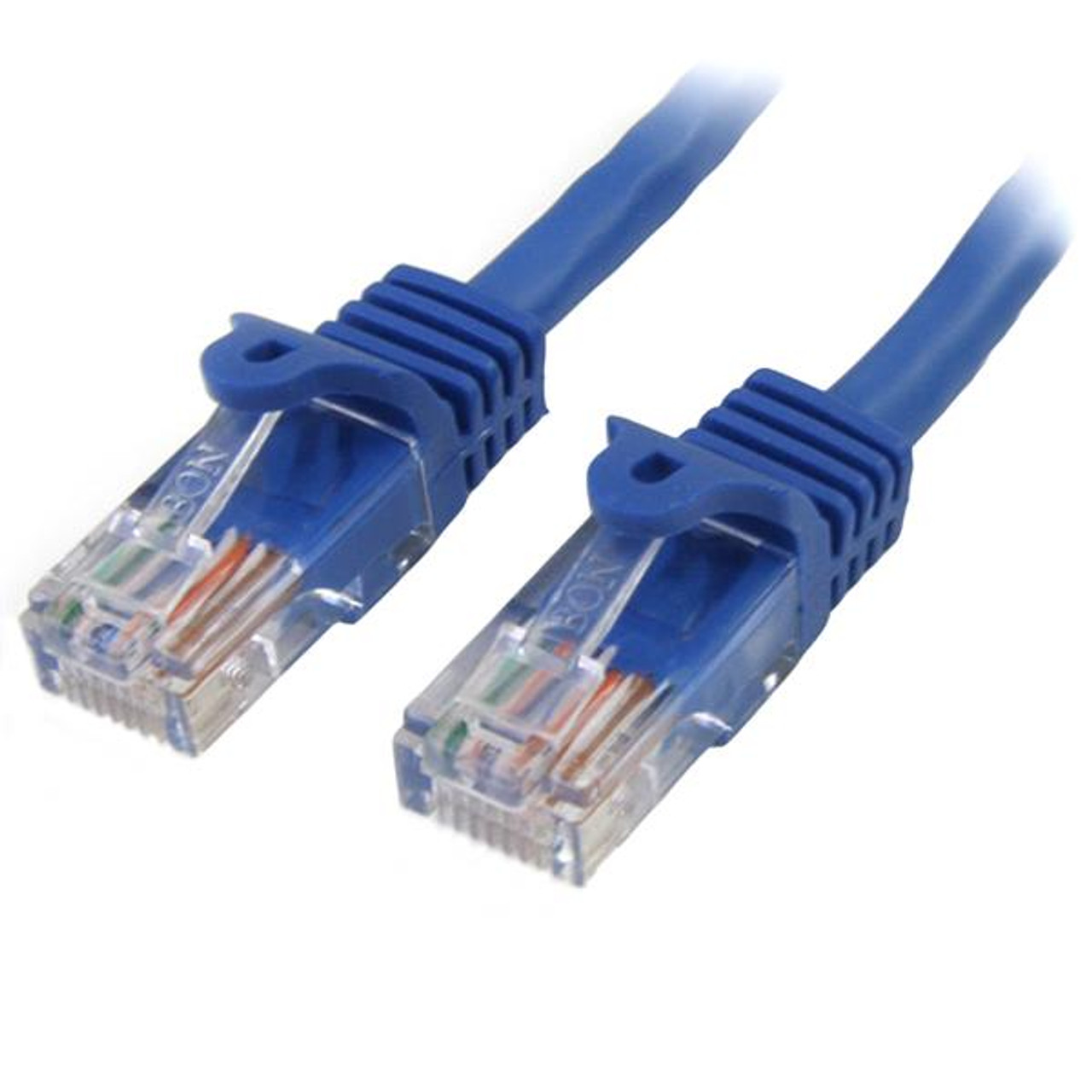 Image for StarTech 2m Cat 5e Blue Snagless Ethernet Patch Cable CX Computer Superstore