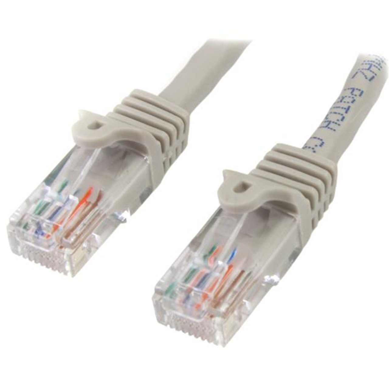 Image for StarTech 2m Cat 5e Gray Snagless Ethernet Patch Cable CX Computer Superstore