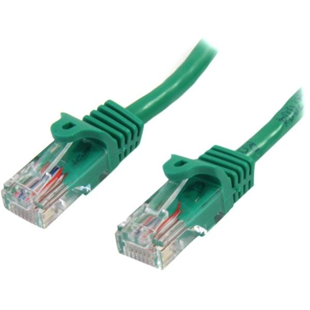 Image for StarTech 1m Cat 5e Green Snagless Ethernet Patch Cable CX Computer Superstore
