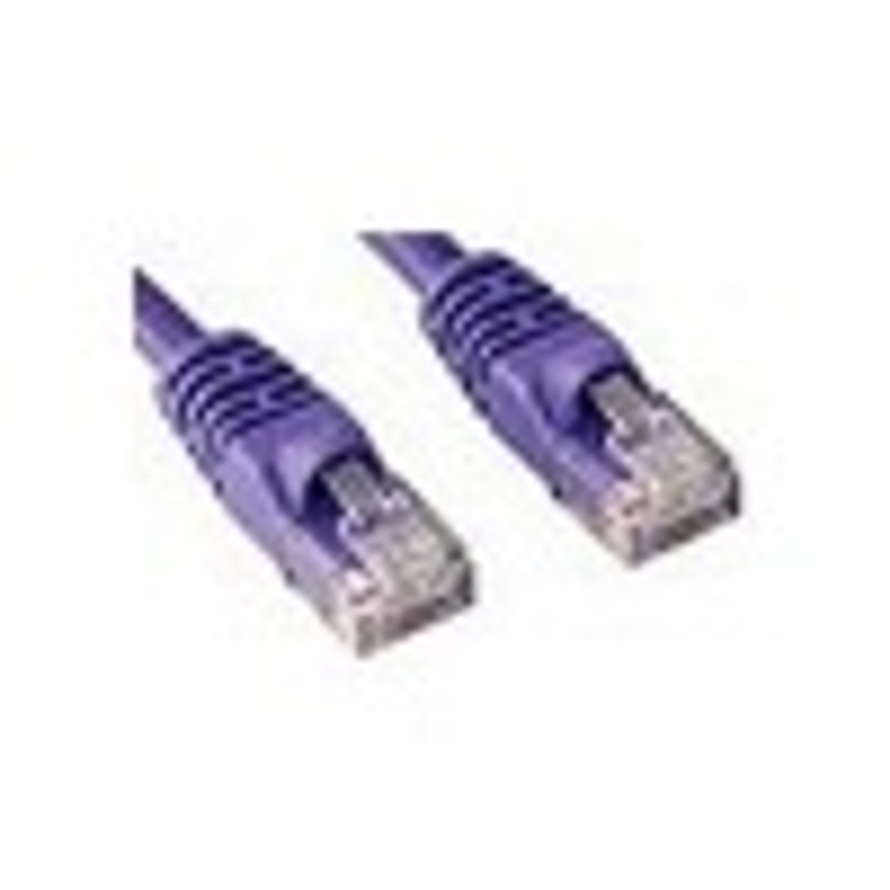 Product image for CAT5e PATCH CORD 0.5M PURPLE Network Cable 453448   CX Computer Superstore