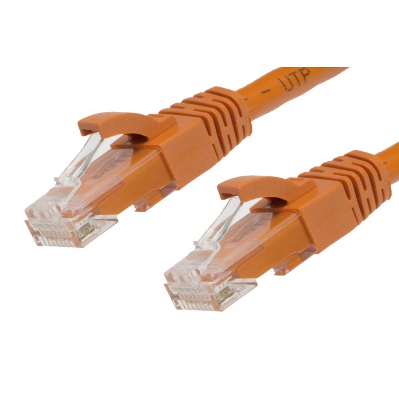 Image for 1m Cat 5E Ethernet Network Cable. Orange CX Computer Superstore