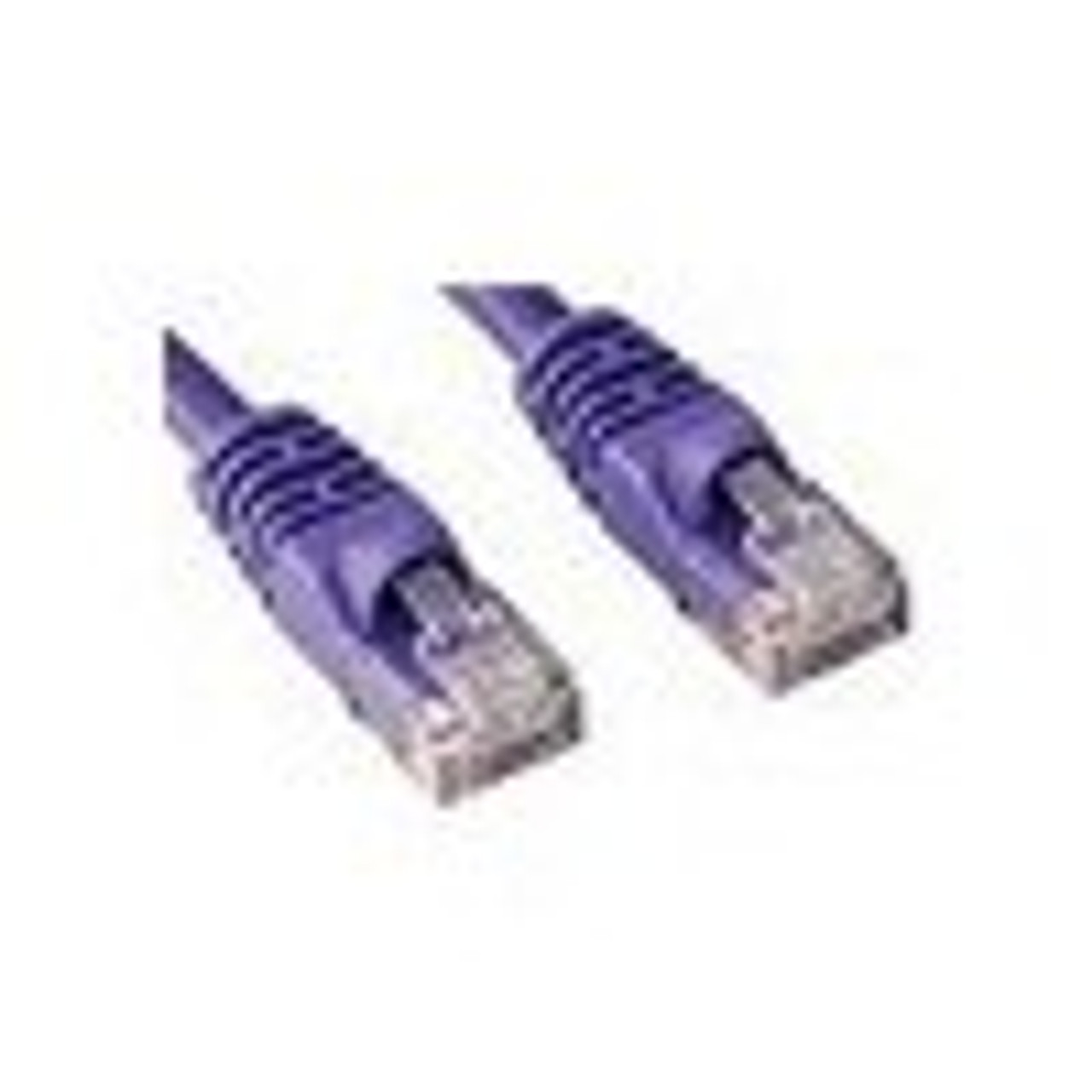 Product image for 0.5M CAT6  PATCH CORD PURPLE Network Cable | CX Computer Superstore
