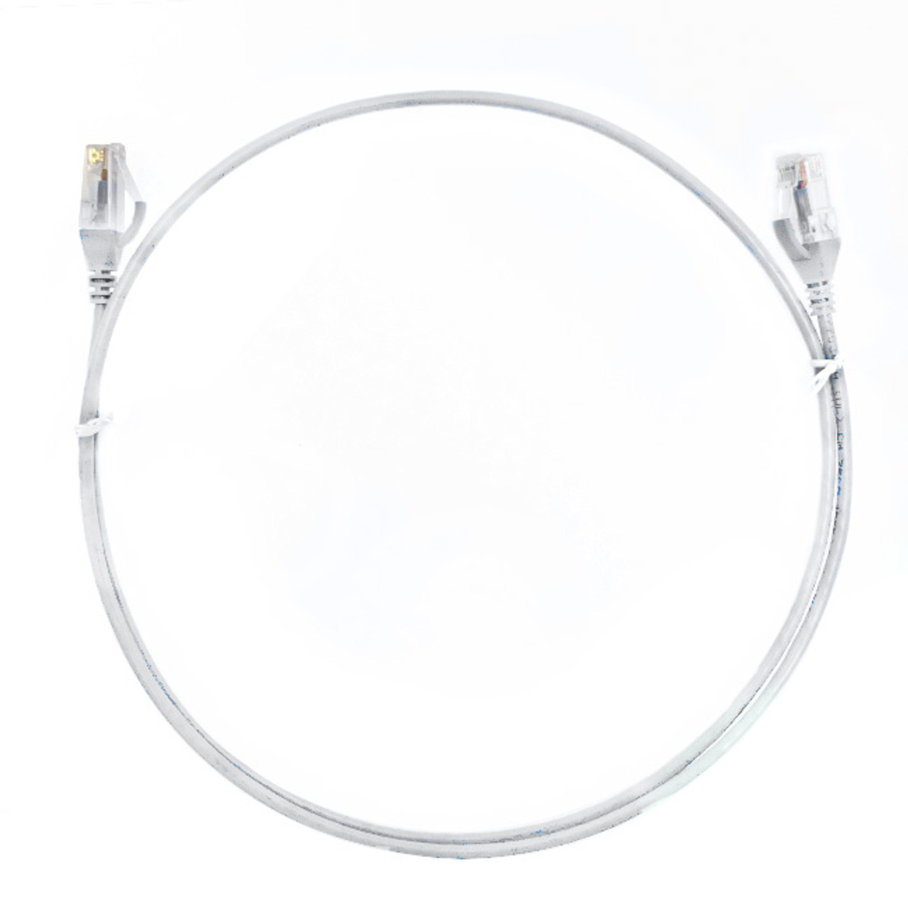 Image for 0.15m Cat 6 RJ45 RJ45 Ultra Thin LSZH Network Cables  : White CX Computer Superstore