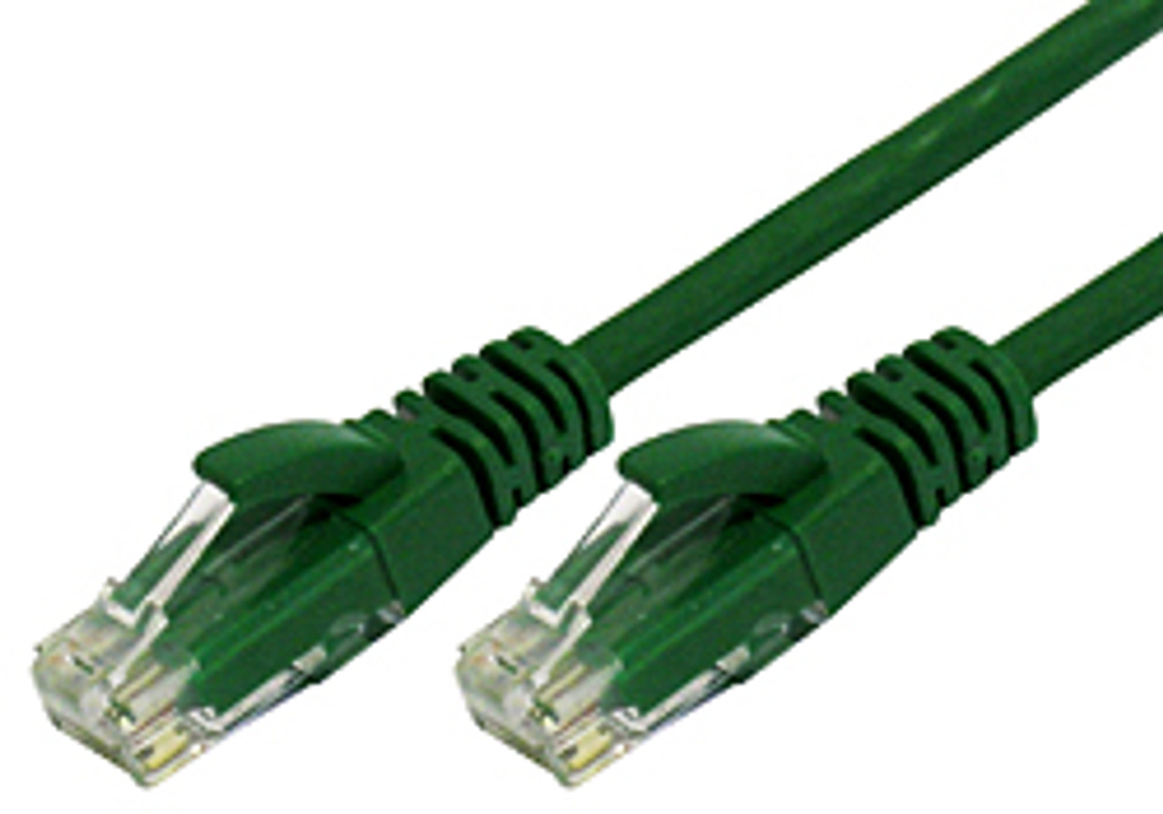 Product image for Comsol 10m RJ45 Cat 6 Patch Cable - Green   CX Computer Superstore