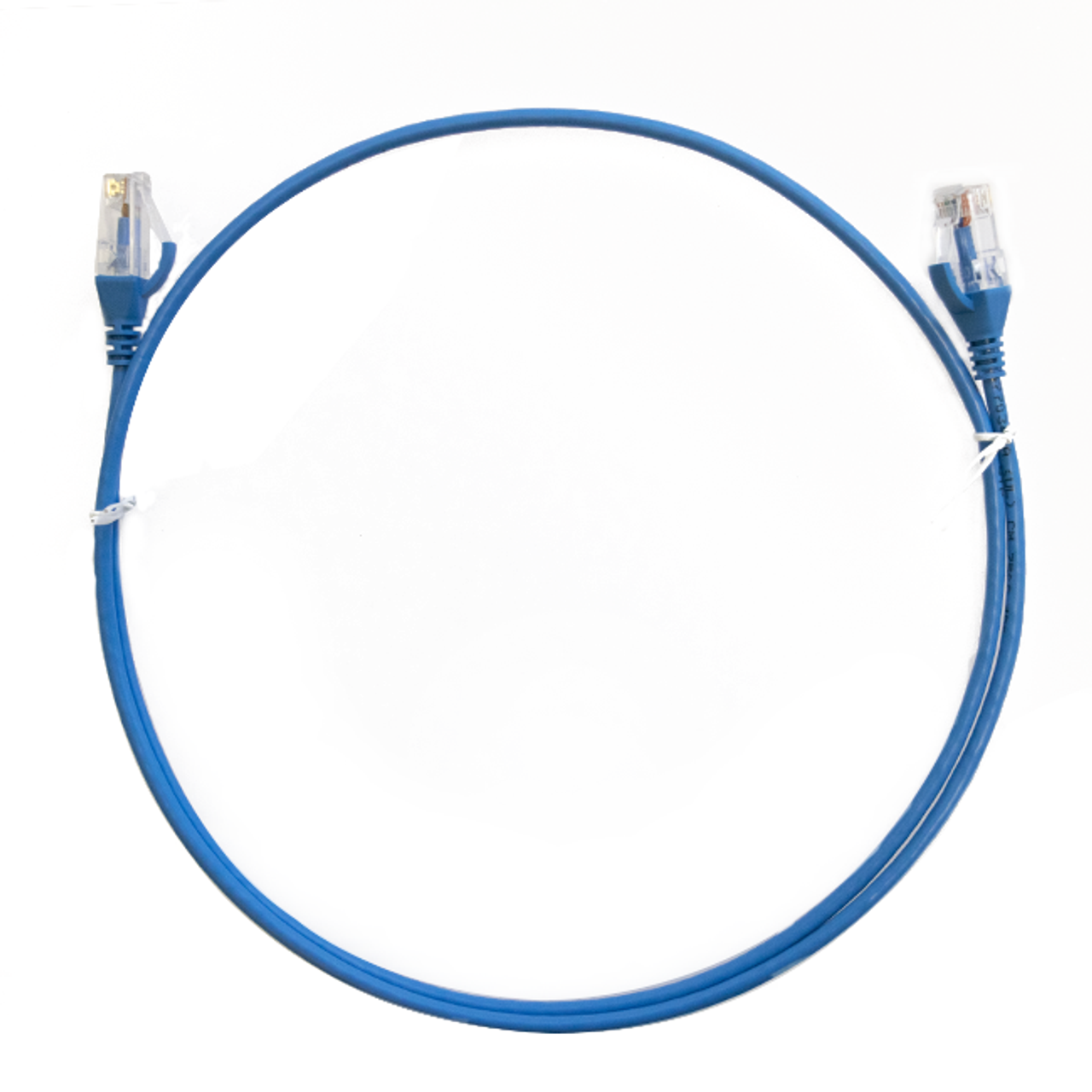 Image for 1m Cat 6 Ultra Thin LSZH Ethernet Network Cable. Blue CX Computer Superstore