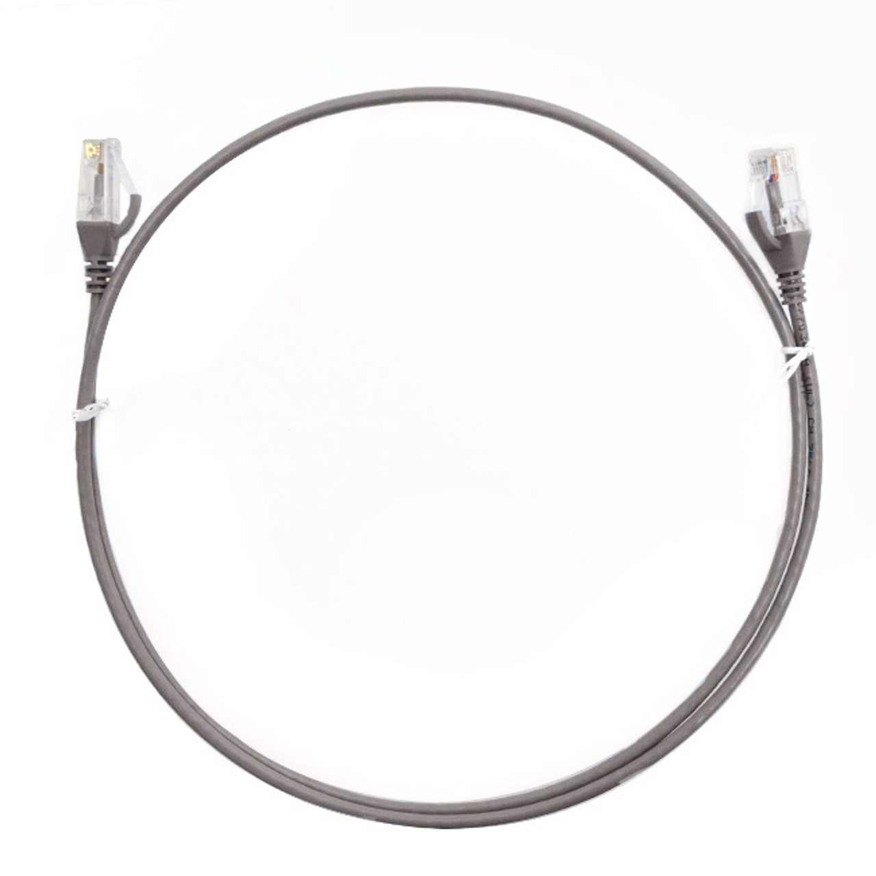 Image for 1.5m Cat 6 Ultra Thin LSZH Ethernet Network Cables: Grey CX Computer Superstore