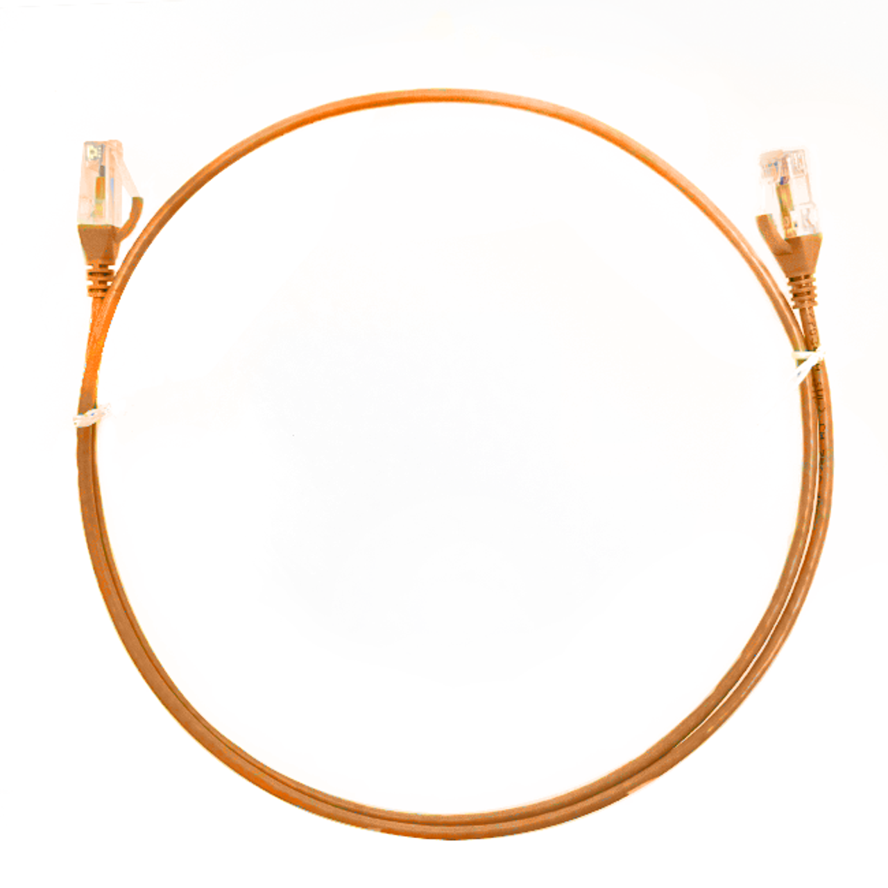 Image for 1.5m Cat 6 Ultra Thin LSZH Ethernet Network Cables: Orange CX Computer Superstore