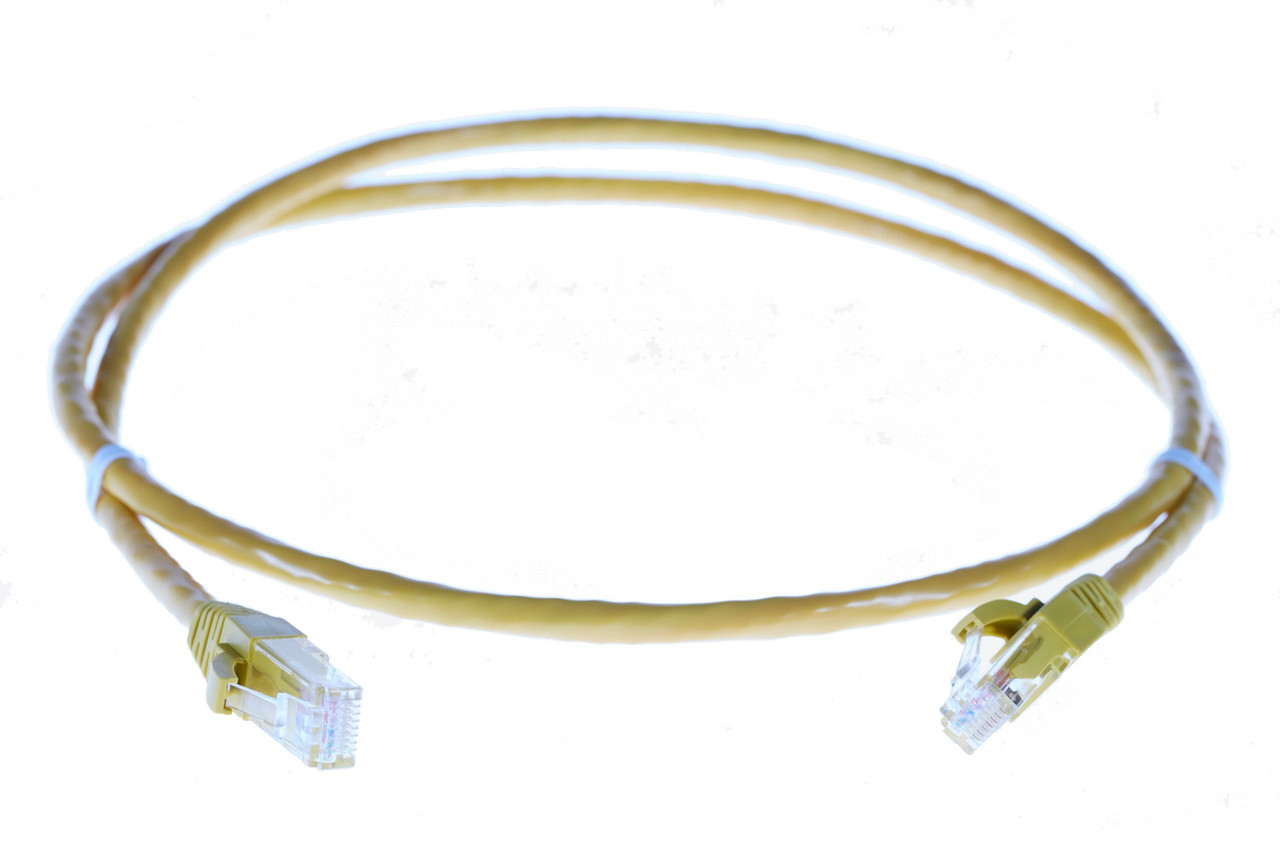 Image for 2m RJ45 CAT6 Ethernet Cable. Yellow CX Computer Superstore