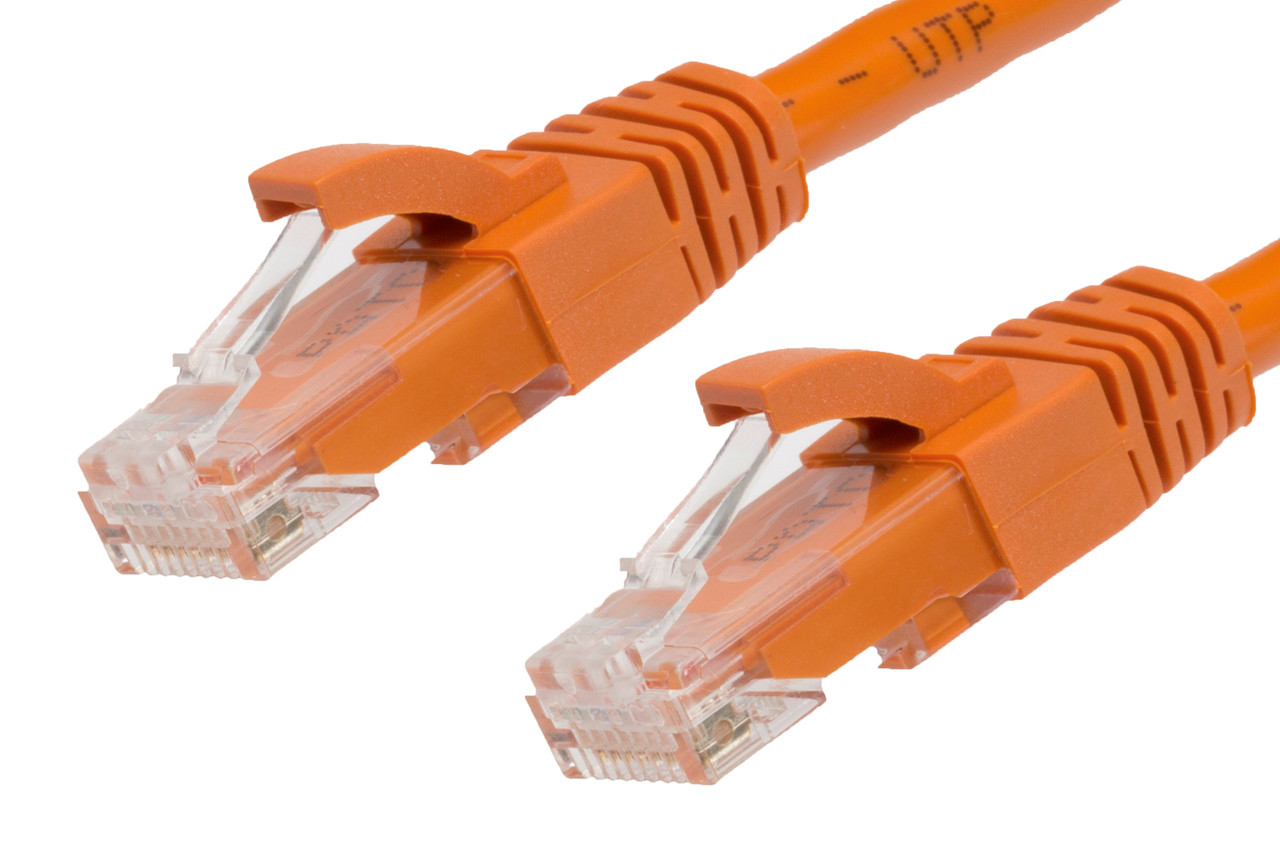 Image for 50m RJ45 CAT6 Ethernet Cable. Orange CX Computer Superstore