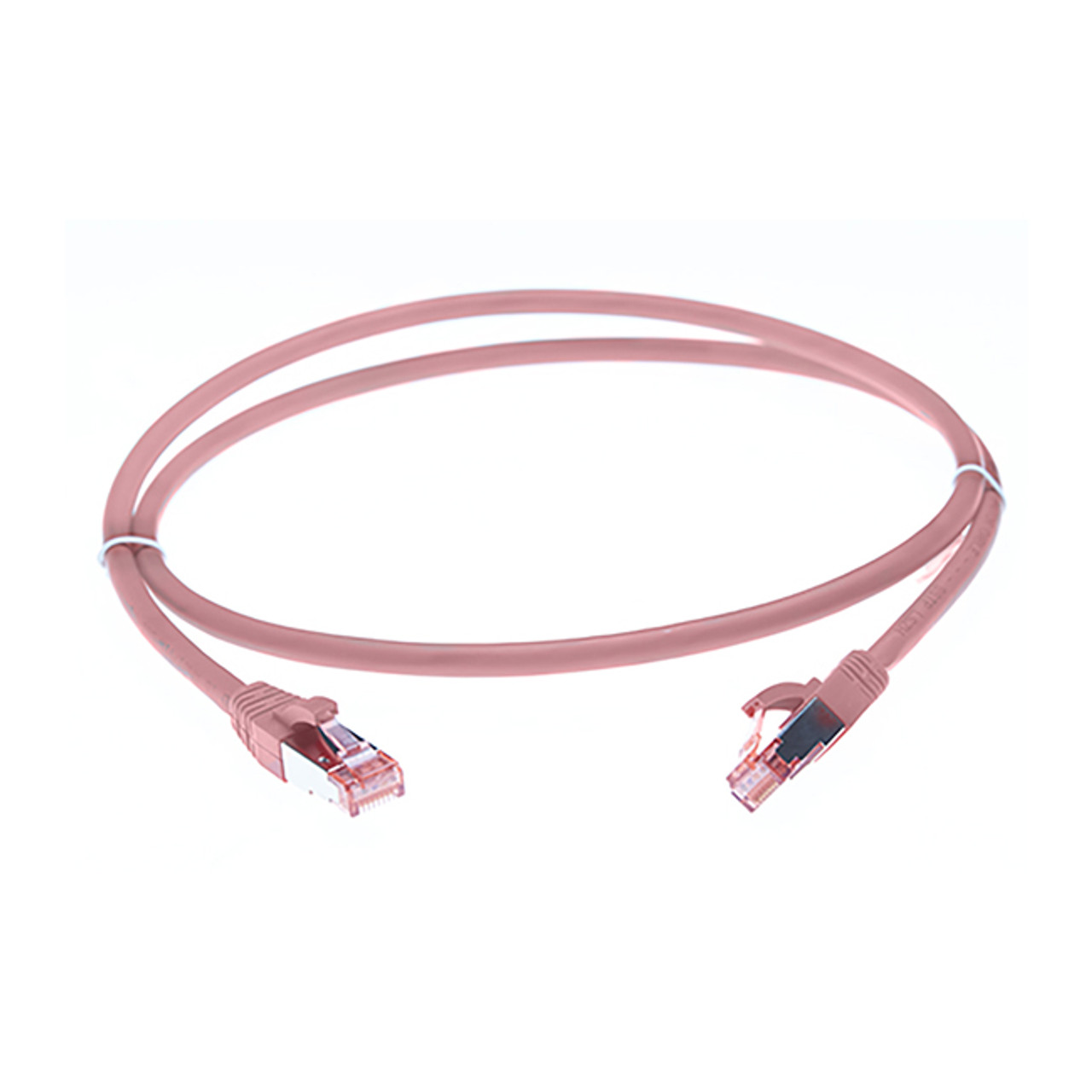 Image for 30m Cat 6A S/FTP LSZH Ethernet Network Cable. Pink CX Computer Superstore