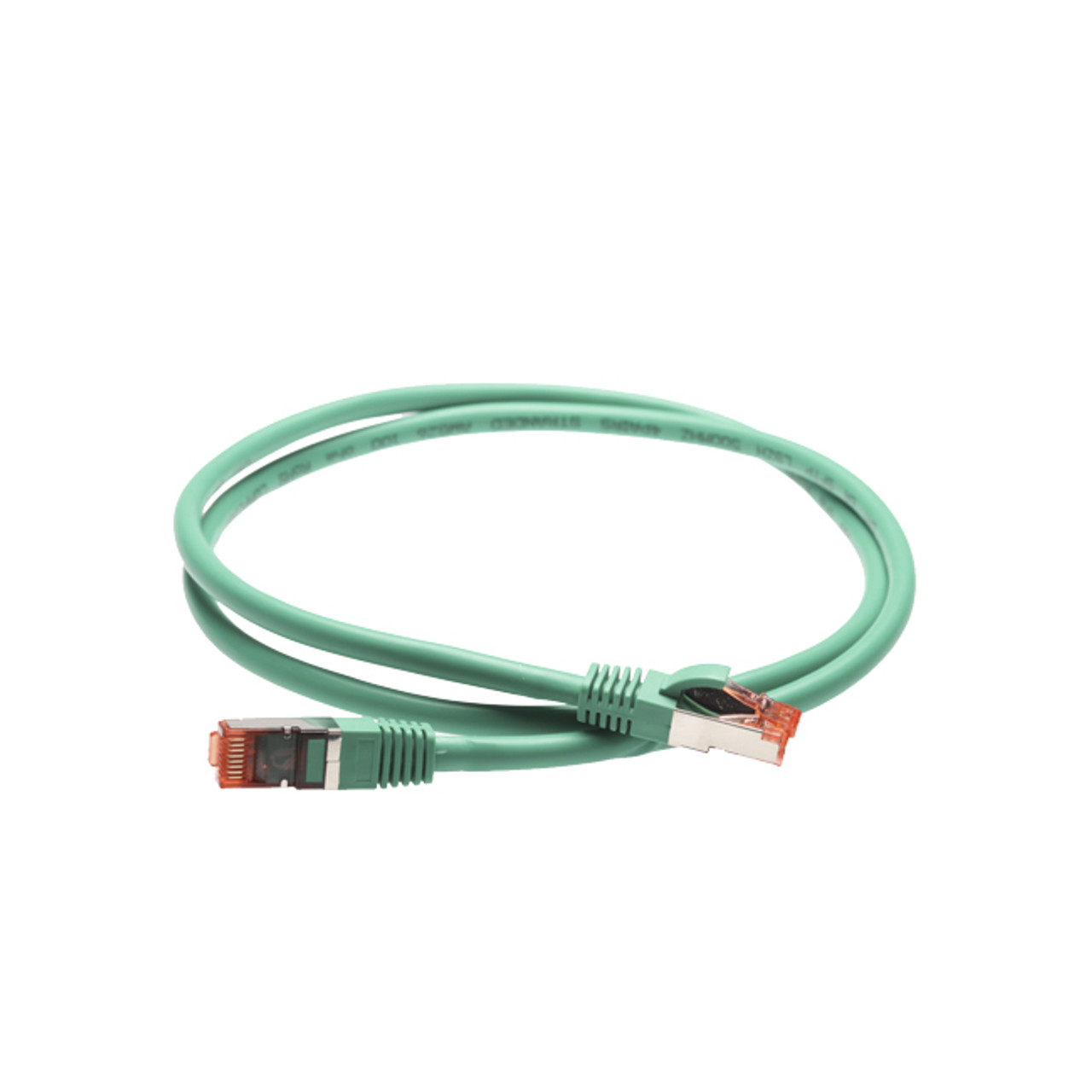 Image for 50m Cat 6A S/FTP LSZH Ethernet Network Cable. Green CX Computer Superstore