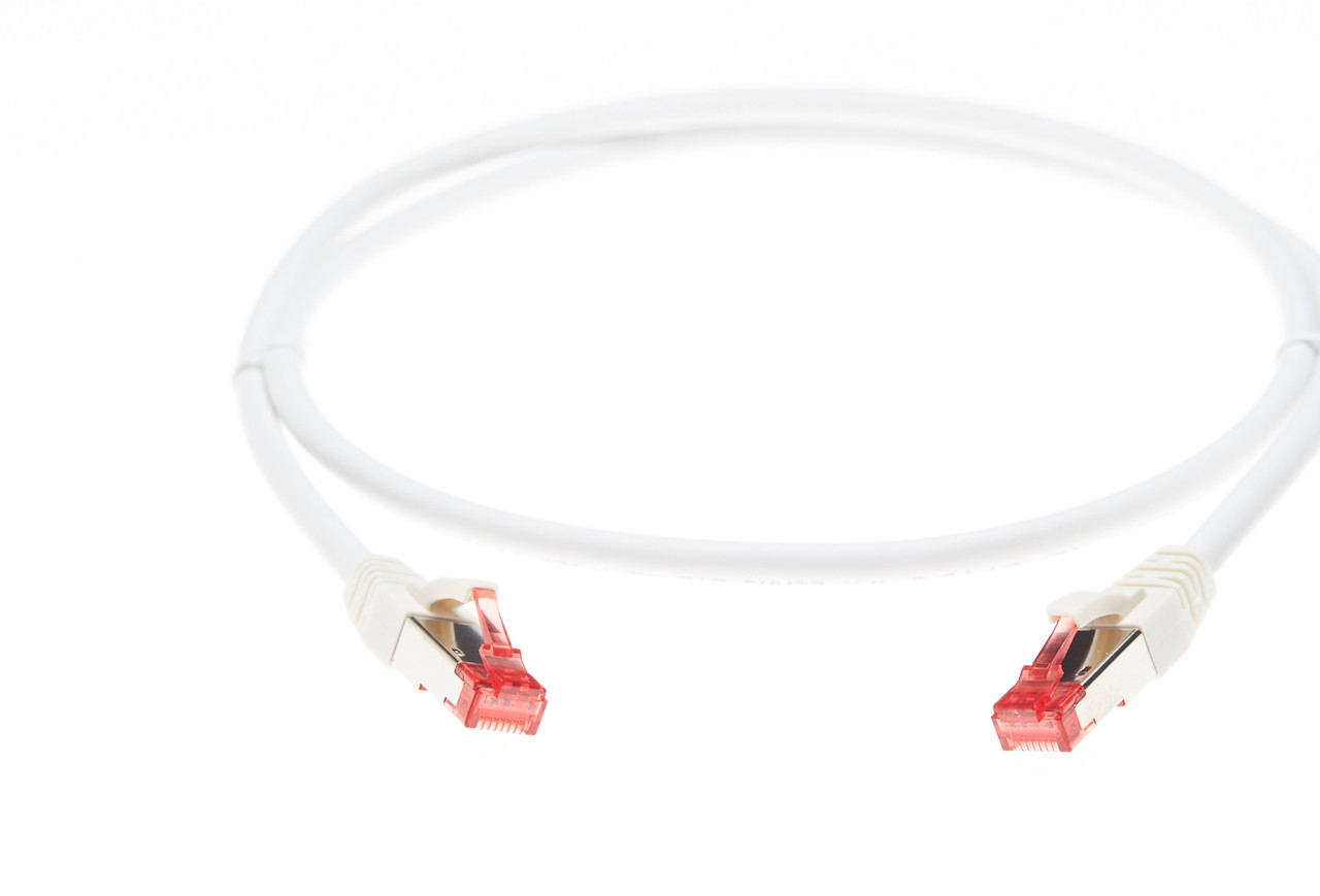 Image for 0.75m Cat 6A S/FTP LSZH Ethernet Network Cable. White CX Computer Superstore