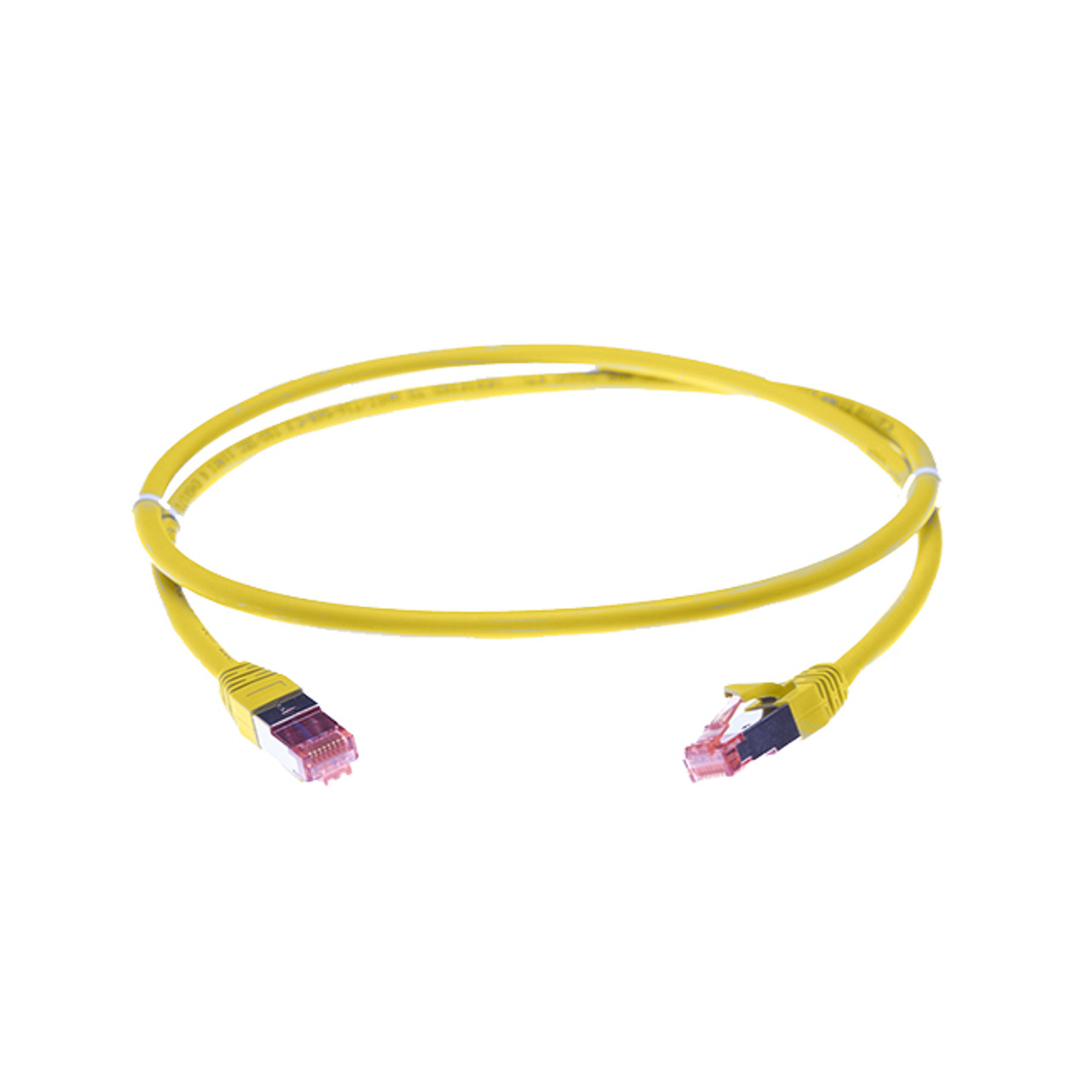Image for 1.5m Cat 6A S/FTP LSZH Ethernet Network Cable. Yellow CX Computer Superstore