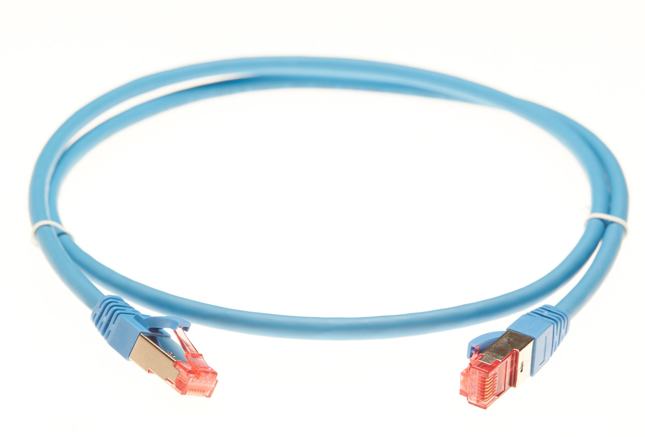 Image for 3m Cat 6A S/FTP Ethernet Network Cable. Blue CX Computer Superstore