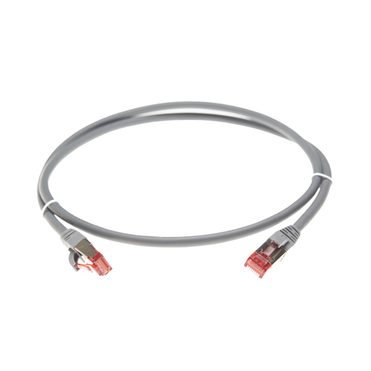 Image for 2.5m Cat 6A S/FTP LSZH Ethernet Network Cable. Grey CX Computer Superstore