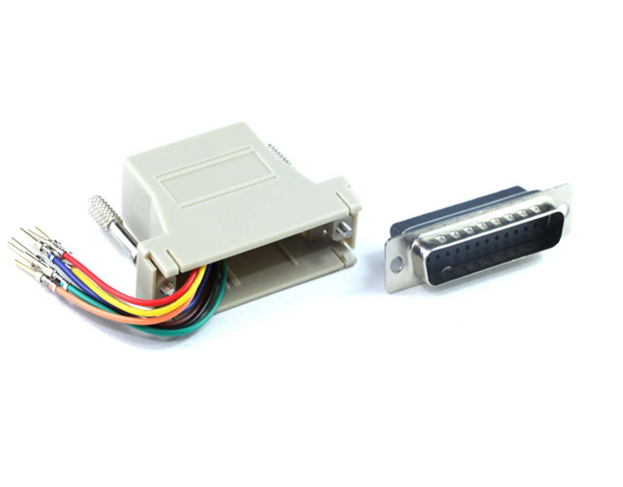 Product image for DB25M To RJ45 F Adaptor   CX Computer Superstore