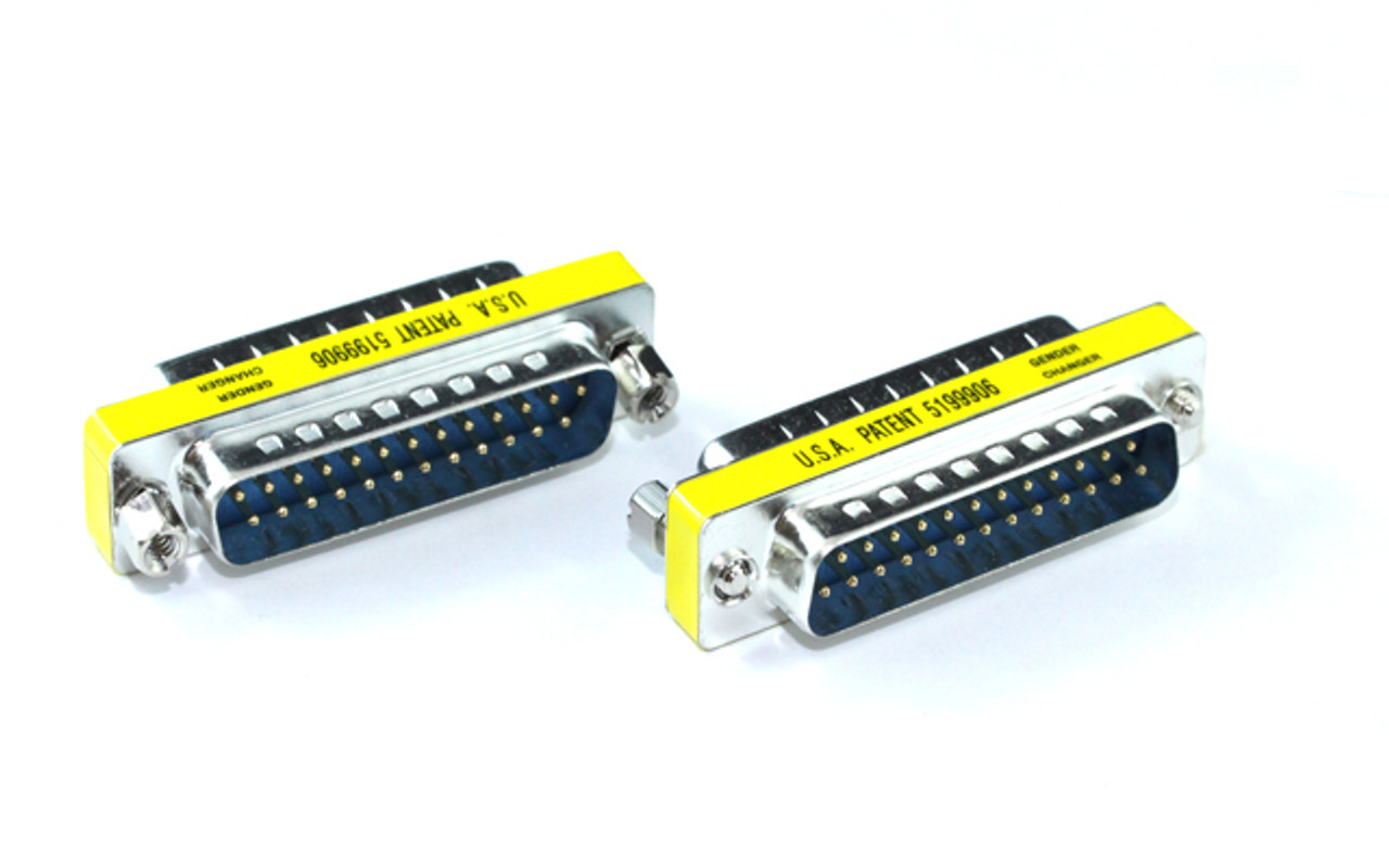 Product image for DB25M/M Gender Changer | CX Computer Superstore