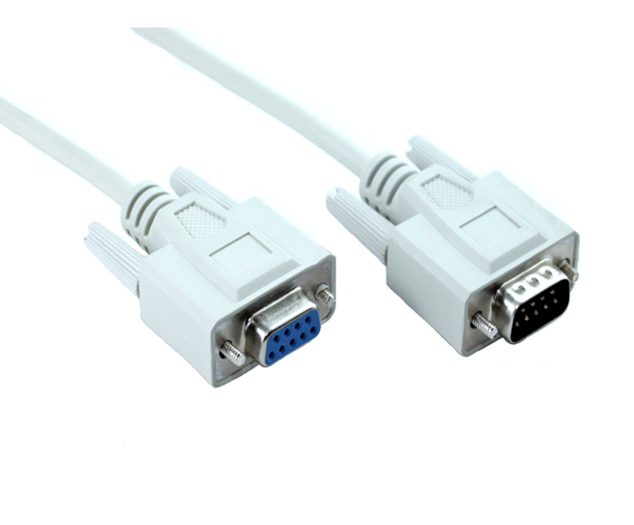 Product image for 15M DB9M-DB9F Serial Extension Cable | CX Computer Superstore