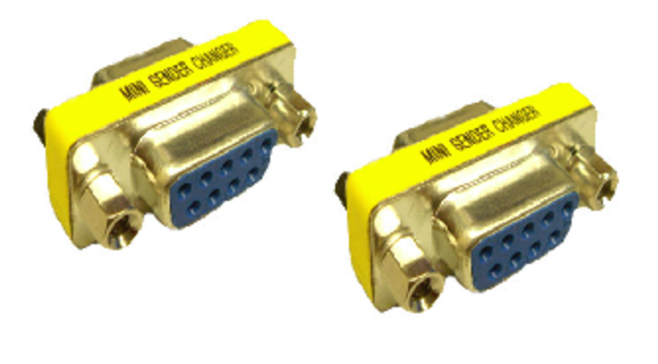 Product image for DB9F/F Gender Changer | CX Computer Superstore
