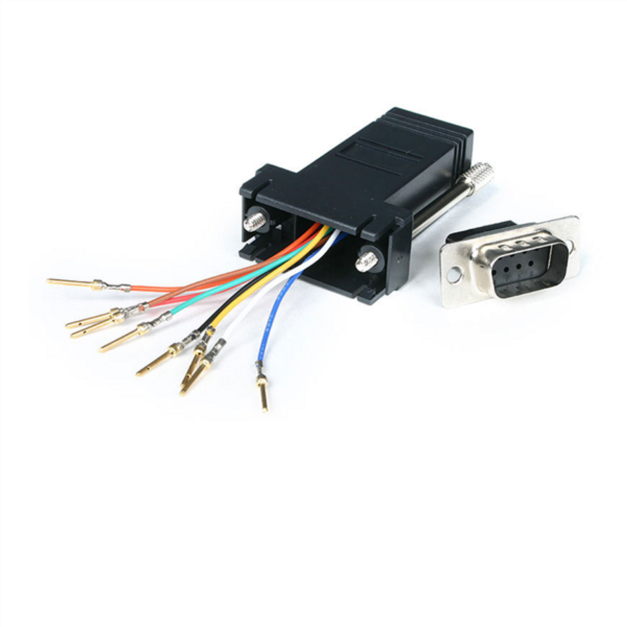 Image for StarTech DB9 to RJ45 Modular Adapter - M/F CX Computer Superstore