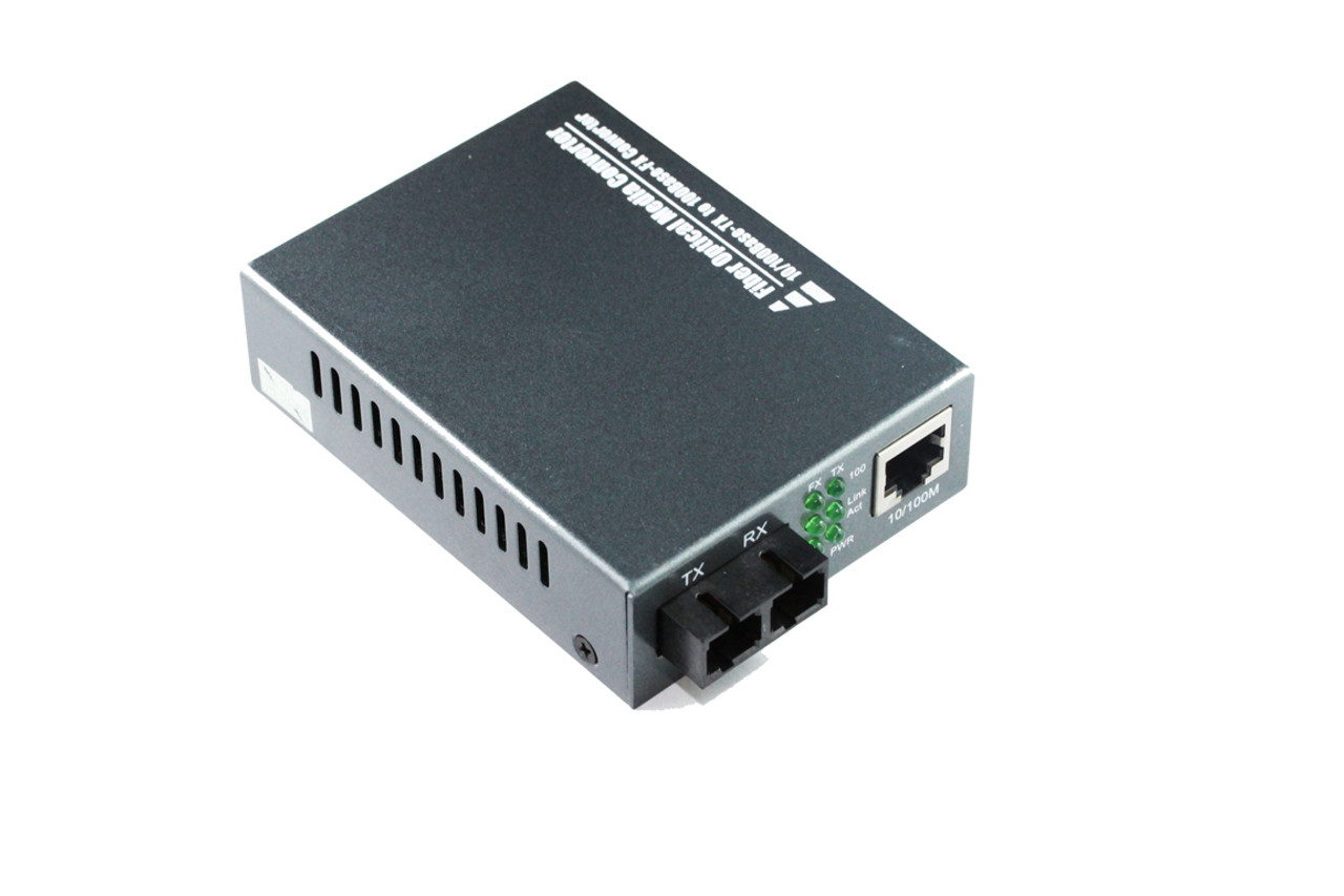 Product image for 10/100M SC Multimode Media Converter | CX Computer Superstore