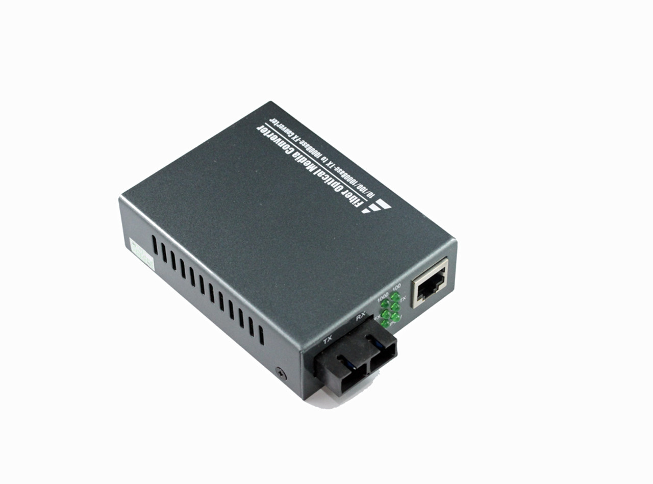 Product image for 10/100/1000M SC Singlemode Media Converter | CX Computer Superstore