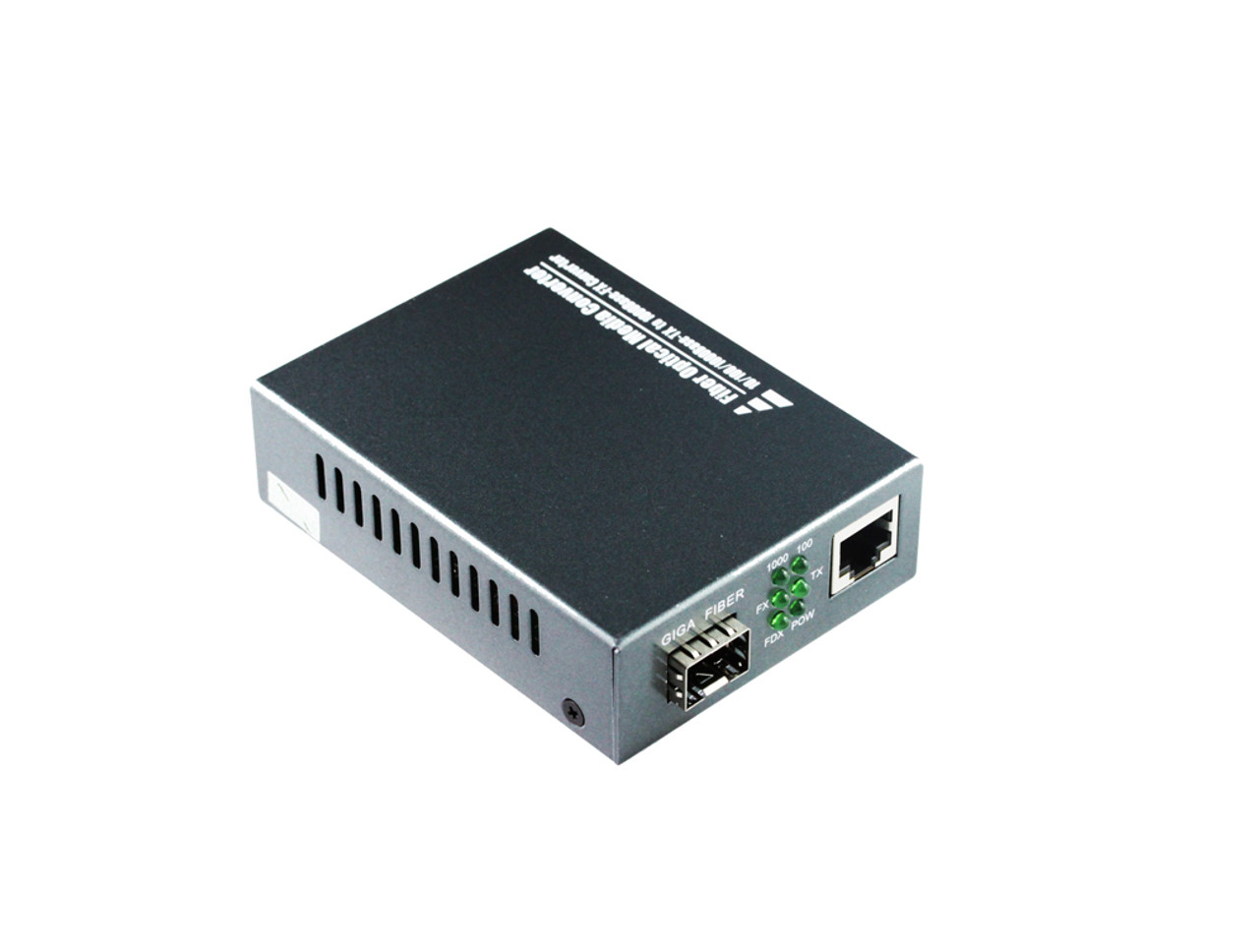 Product image for 10/100/1000M Multimode Media Converter With SFP Port | CX Computer Superstore