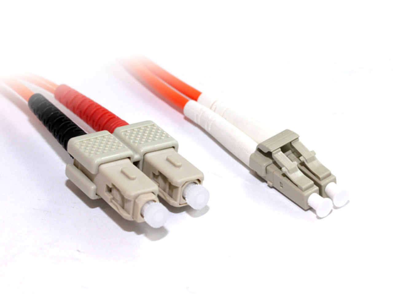 Product image for 10M LC-SC OM2 50/125 Multimode Duplex Fibre Optic Cable | CX Computer Superstore