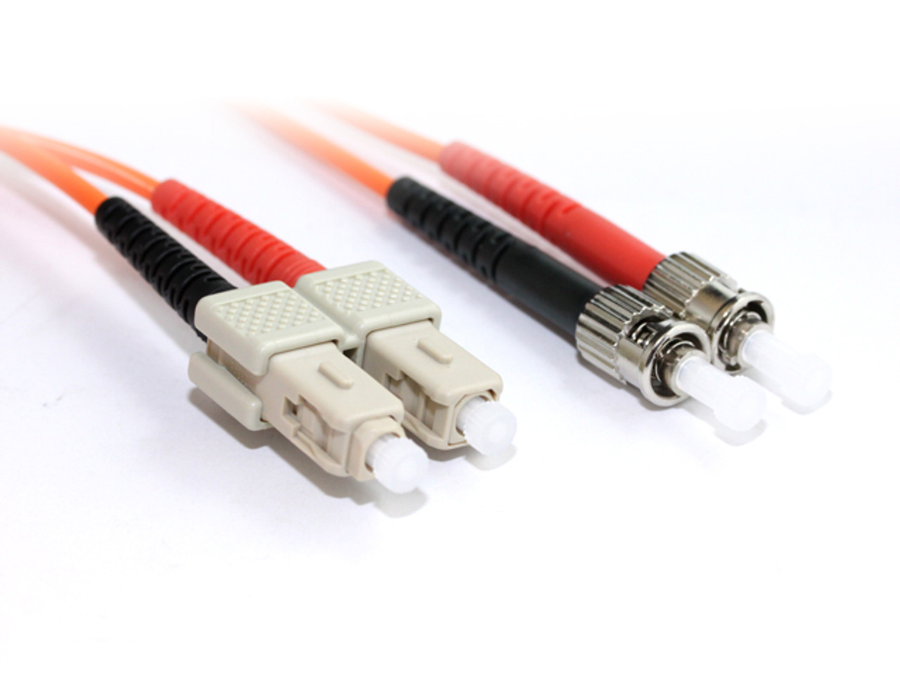 Product image for 20M SC-ST OM1 Multimode Duplex Fibre Optic Cable | CX Computer Superstore