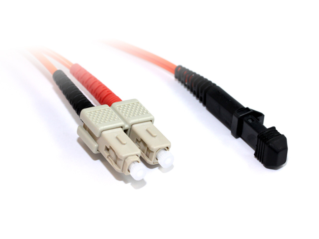 Product image for 2M MTRJ-SC OM1 Multimode Duplex Fibre Optic Cable | CX Computer Superstore