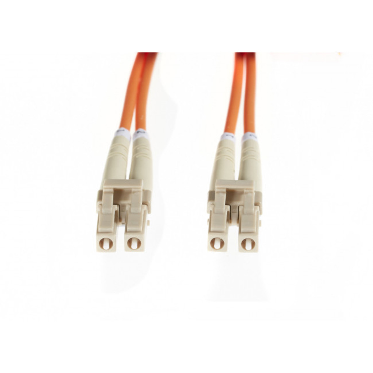 Image for 0.5m LC-LC OM1 Multimode Fibre Optic Cable: Orange CX Computer Superstore