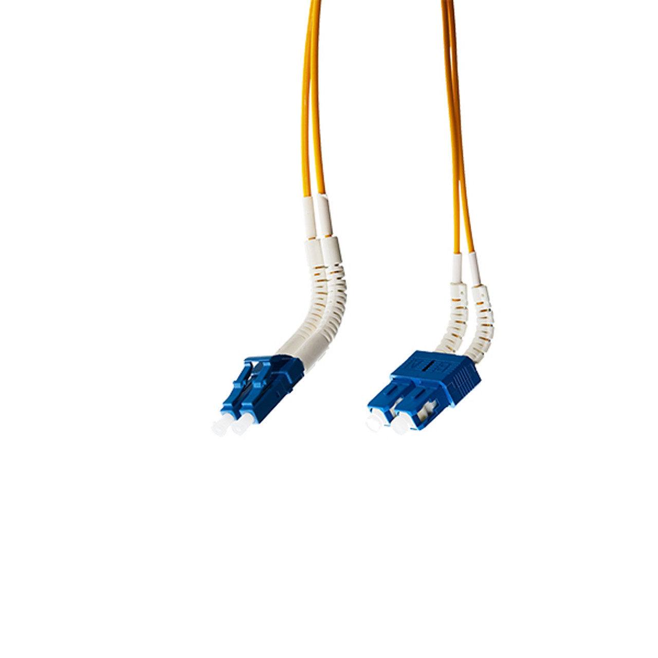 Image for 1m LC-SC Flexi Boot OS1/OS2 Singlemode Fibre Optic Cable CX Computer Superstore