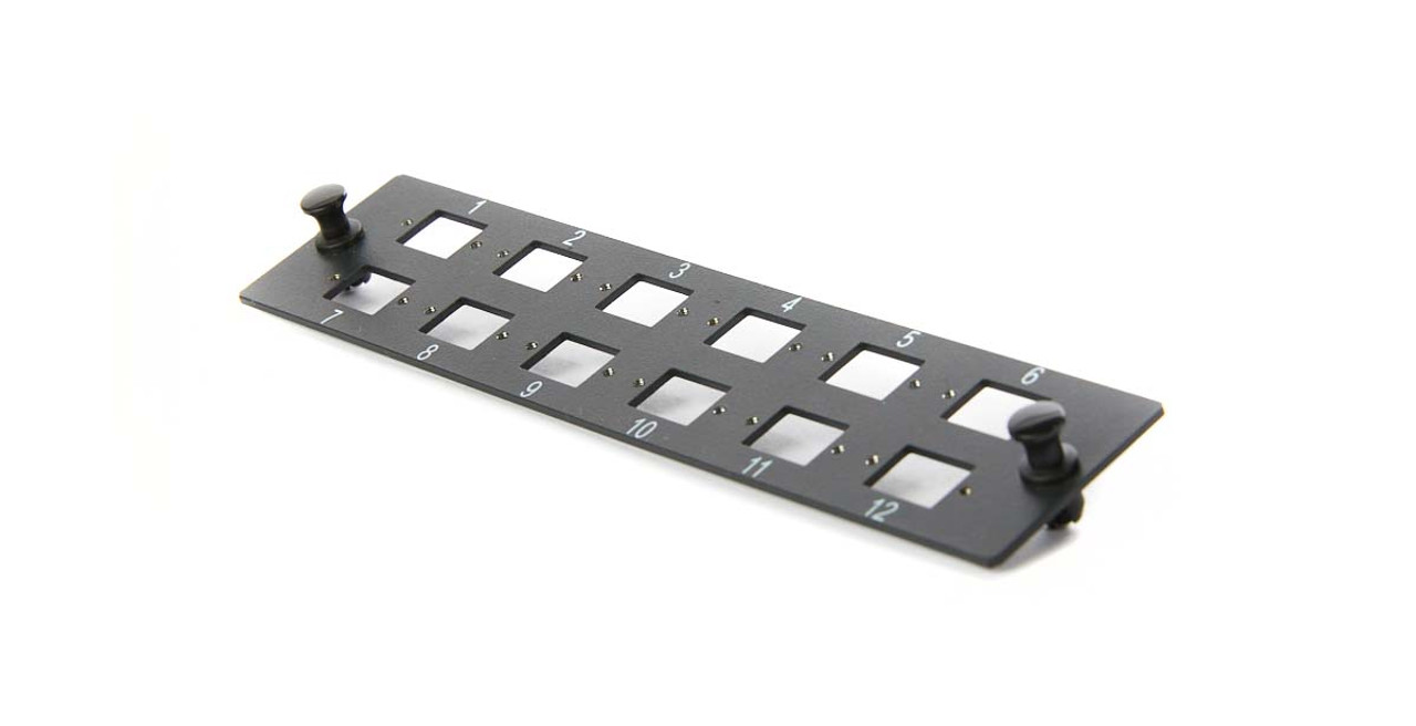 Image for Adaptor Plate - 12 Port LC Duplex Adaptor Plate UNLOADED CX Computer Superstore