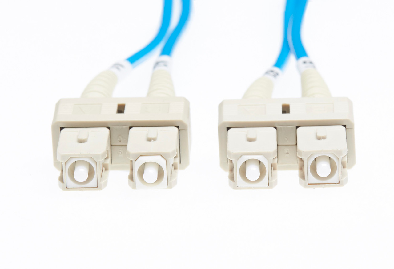 Image for 5m SC-SC OM1 Multimode Fibre Optic Cable: Blue CX Computer Superstore