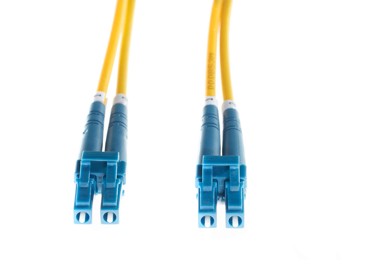 Image for 15m LC-LC OS1 / OS2 Singlemode Fibre Optic Cable : Yellow CX Computer Superstore