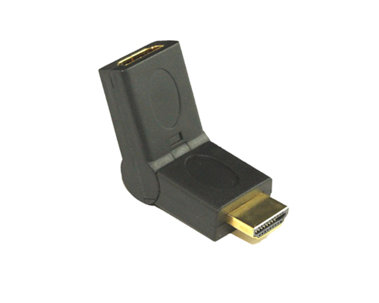 Product image for Adapter HDMI M To F Swivel   CX Computer Superstore