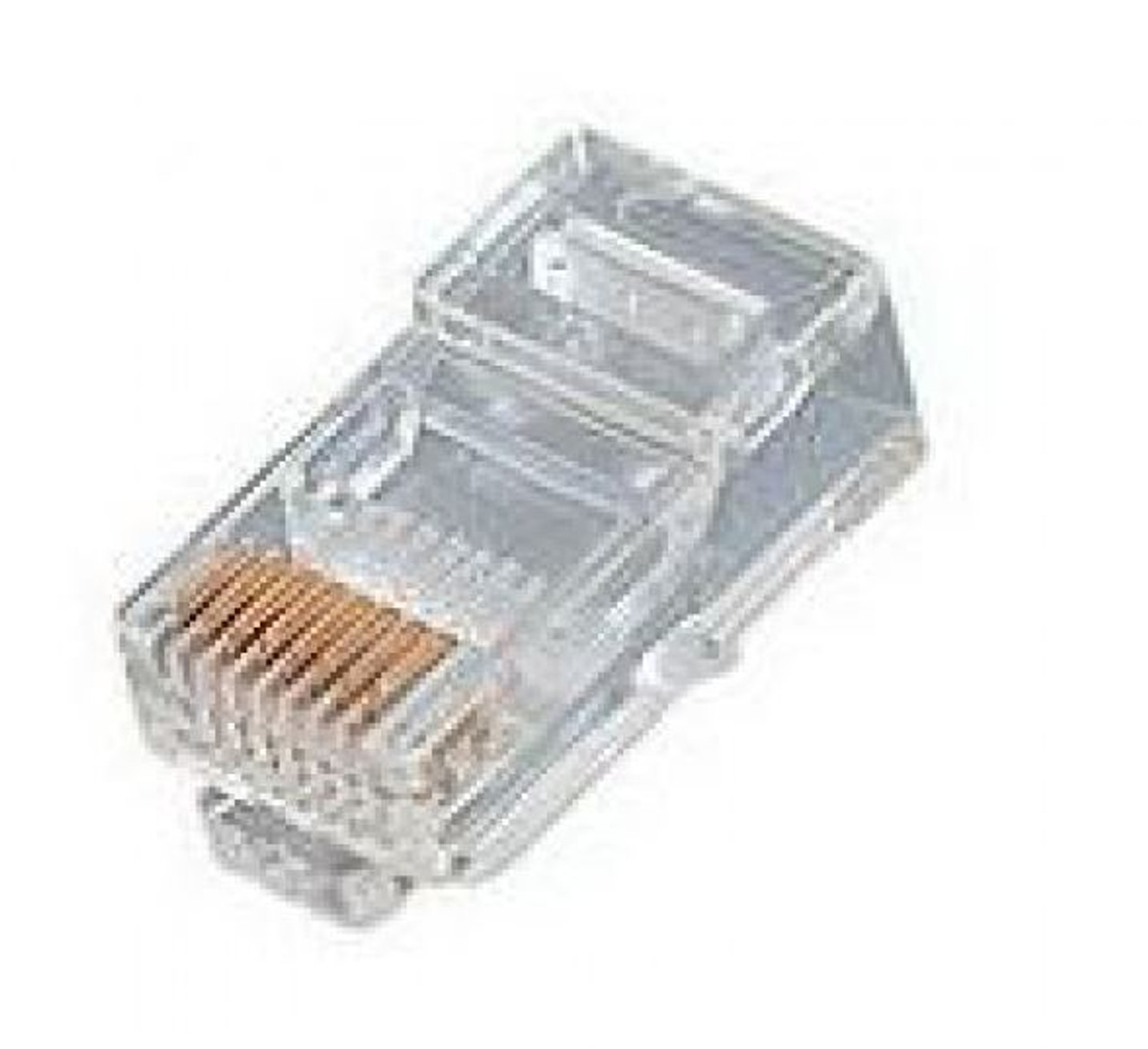 Image for 8 Position Stranded  RJ45 Cat 5E Crimp Plug 100 Pack CX Computer Superstore