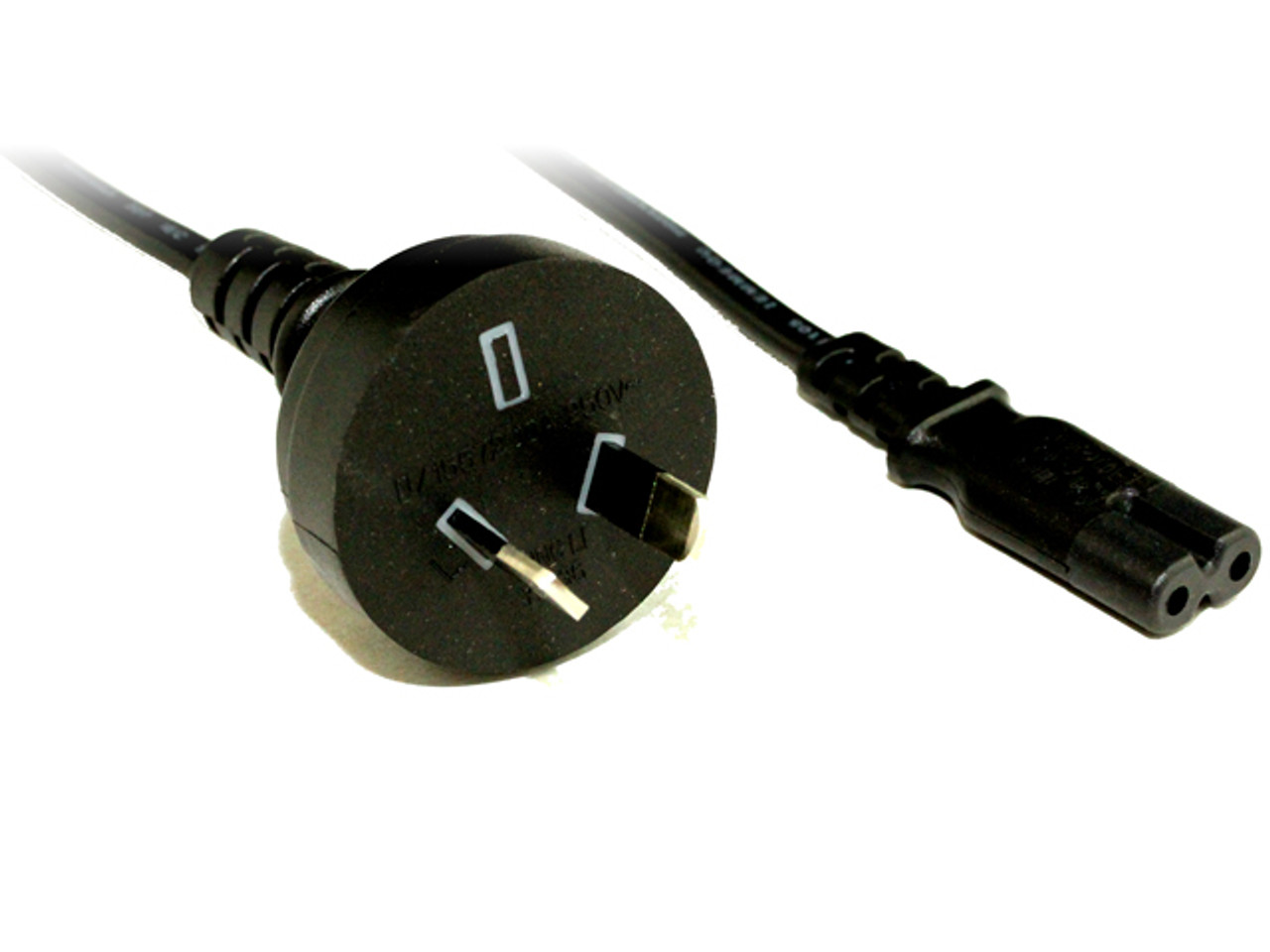 Product image for 2M Wall To C7 Power Cable   CX Computer Superstore