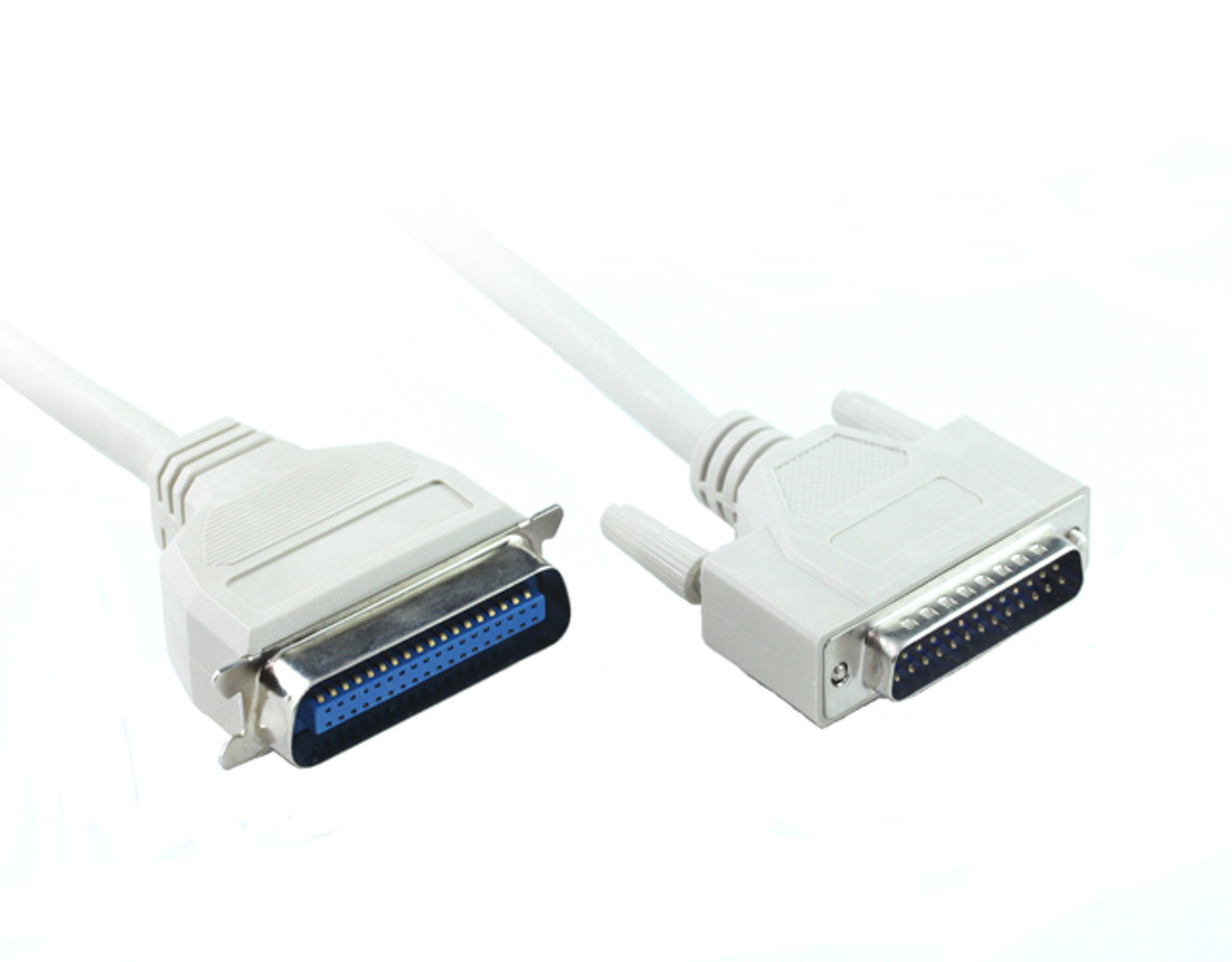 Product image for 1.8M DB25M To Centronic 36M Printer Cable | CX Computer Superstore