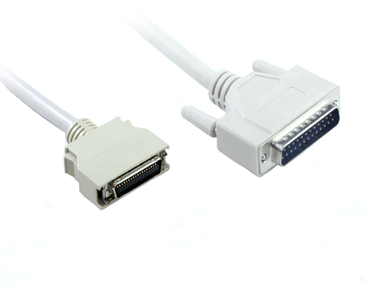 Product image for 2M IEEE1284 DB25M/HPC36M Printer Cable | CX Computer Superstore