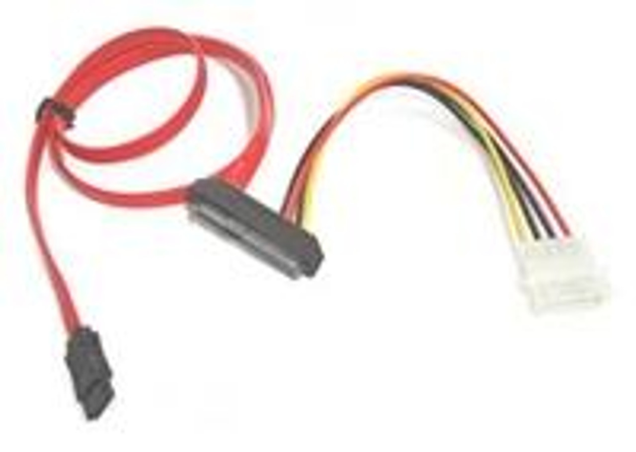 Product image for 70CM SAS 29 pin to 1 x Molex and 1 x SATA Cable | CX Computer Superstore