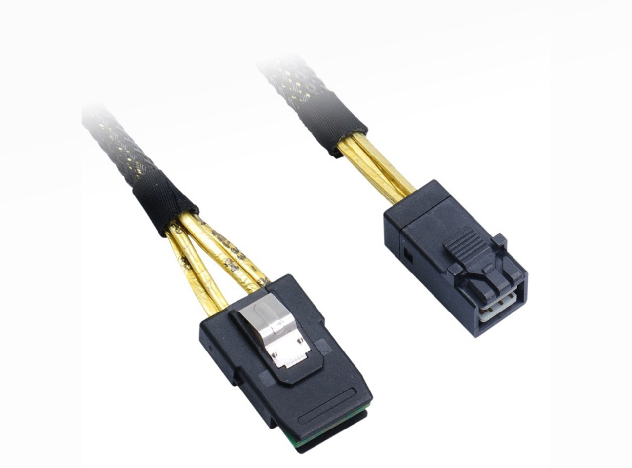 Product image for 50CM Internal Mini SAS HD to Mini SAS 36 Cable | CX Computer Superstore