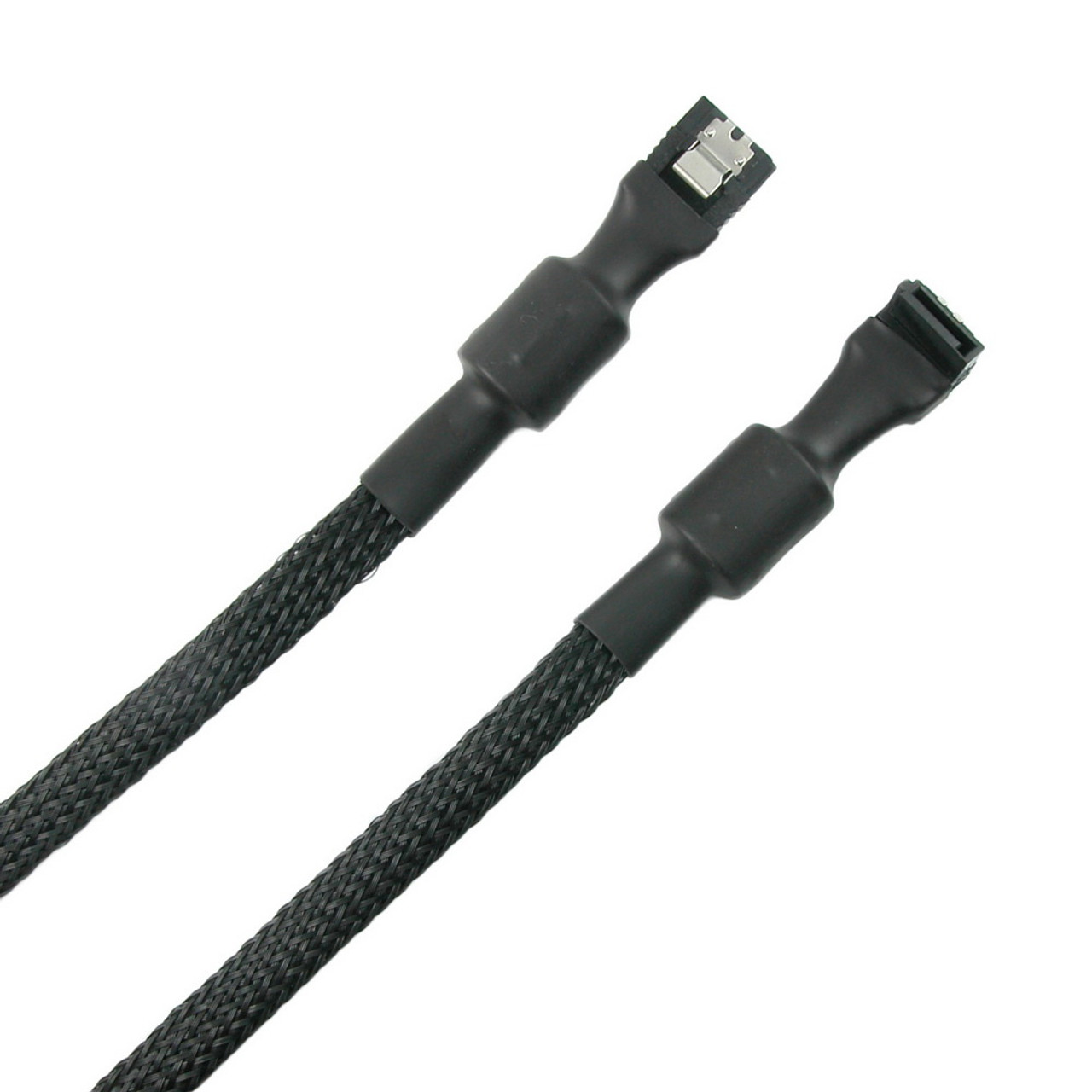 Product image for 50cm Simplecom CA110L Premium SATA 3 HDD SSD Data Cable Sleeved | CX Computer Superstore