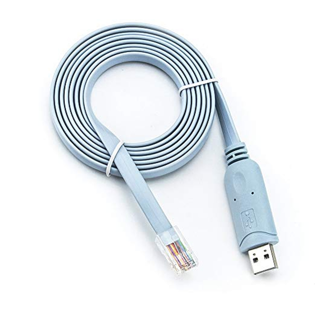 Product image for 2M USB RJ45 Cisco Console Cable | CX Computer Superstore