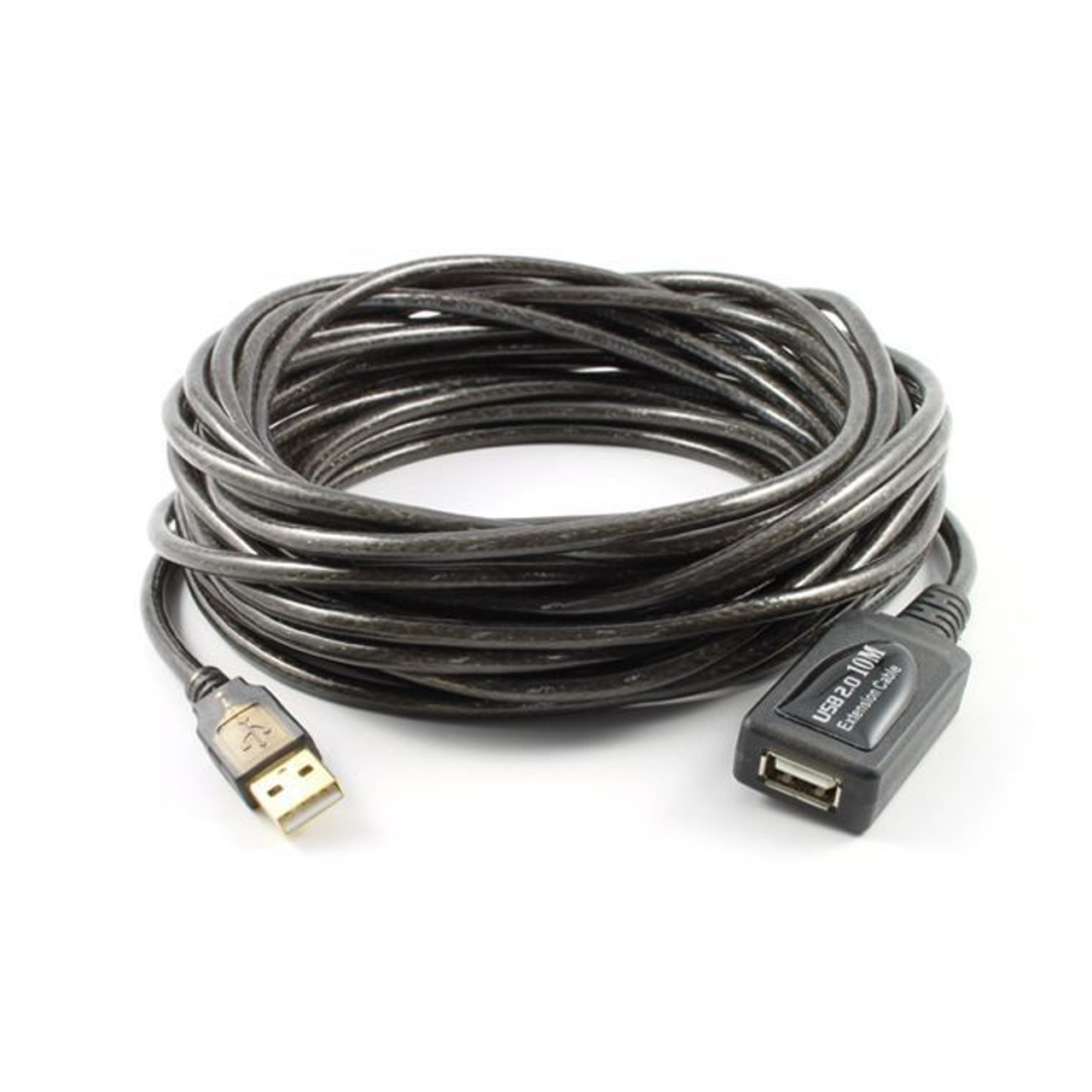 Image for 20M USB 2.0 AM-AF Active Extension Cable Black CX Computer Superstore